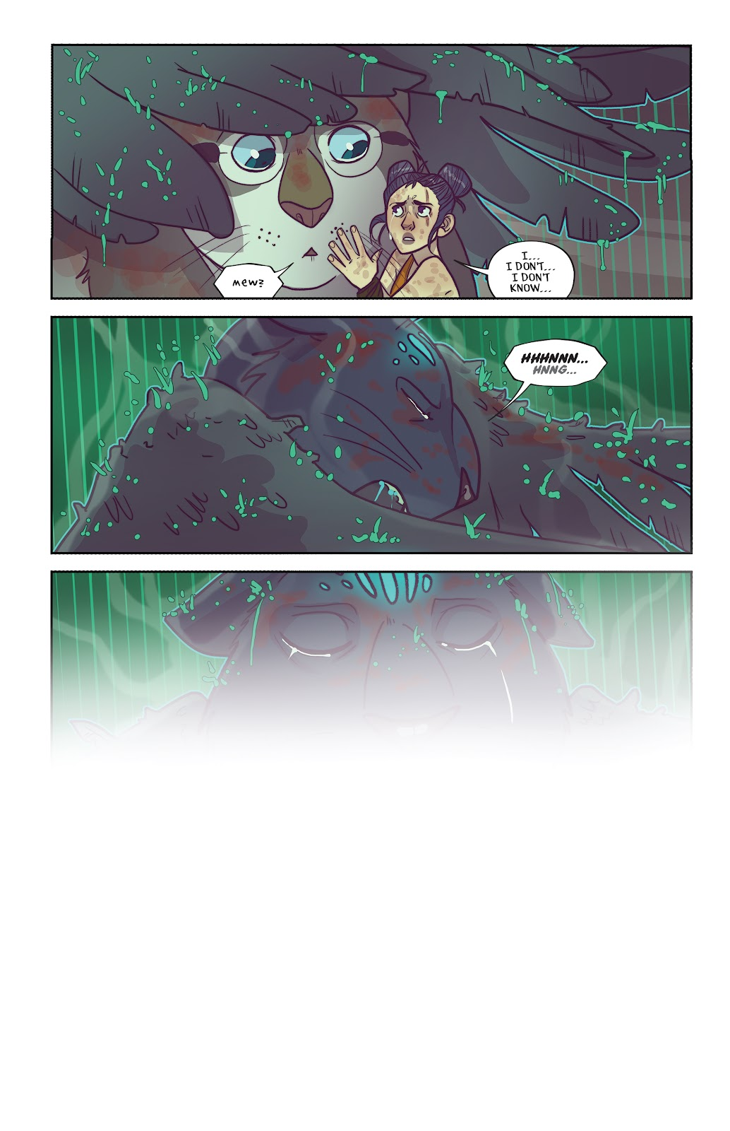 Read online Afterglow comic -  Issue #3 - 21