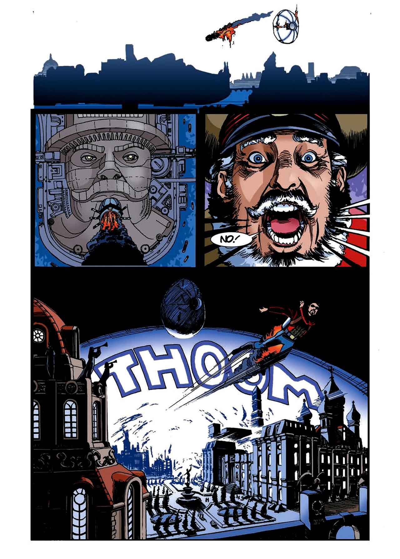 Read online Nikolai Dante comic -  Issue # TPB 4 - 148