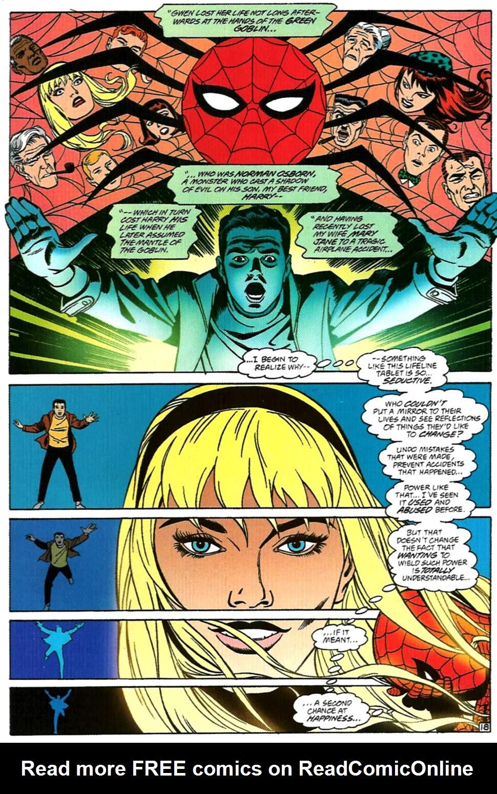 Read online Spider-Man: Lifeline comic -  Issue #1 - 19