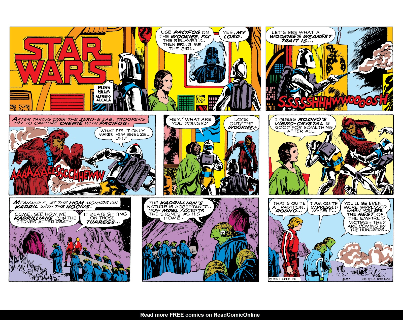 Read online Star Wars Legends: The Newspaper Strips - Epic Collection comic -  Issue # TPB (Part 3) - 98