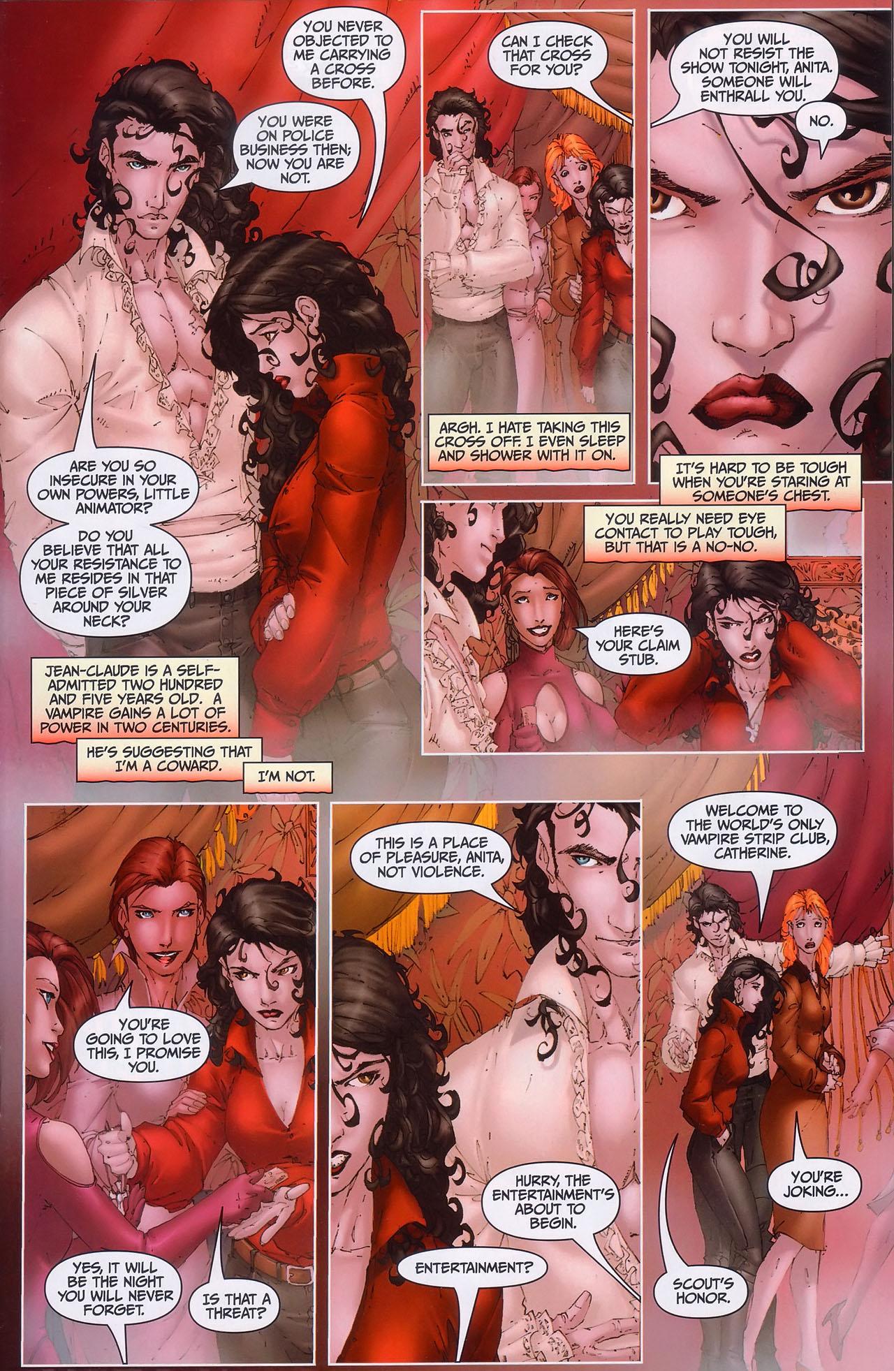 Read online Anita Blake, Vampire Hunter: Guilty Pleasures comic -  Issue #1 - 12