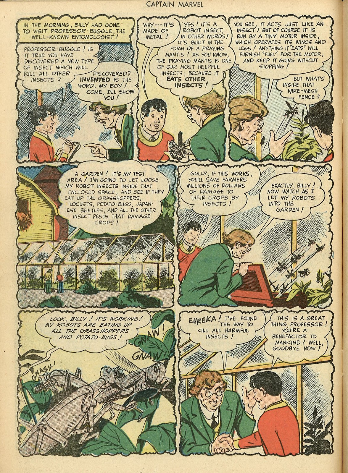 Captain Marvel Adventures issue 70 - Page 18