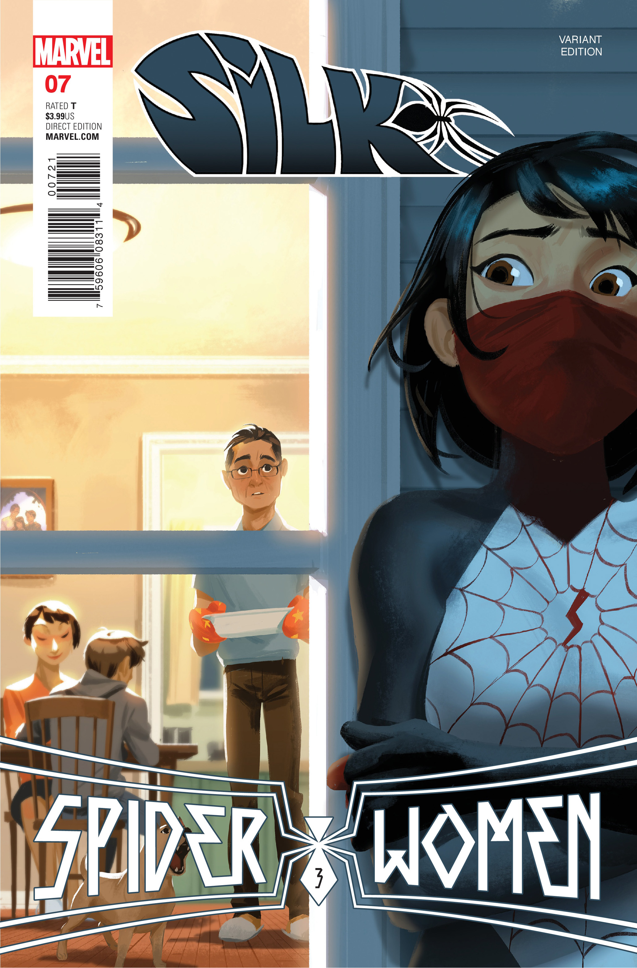 Read online Silk (2016) comic -  Issue #7 - 2