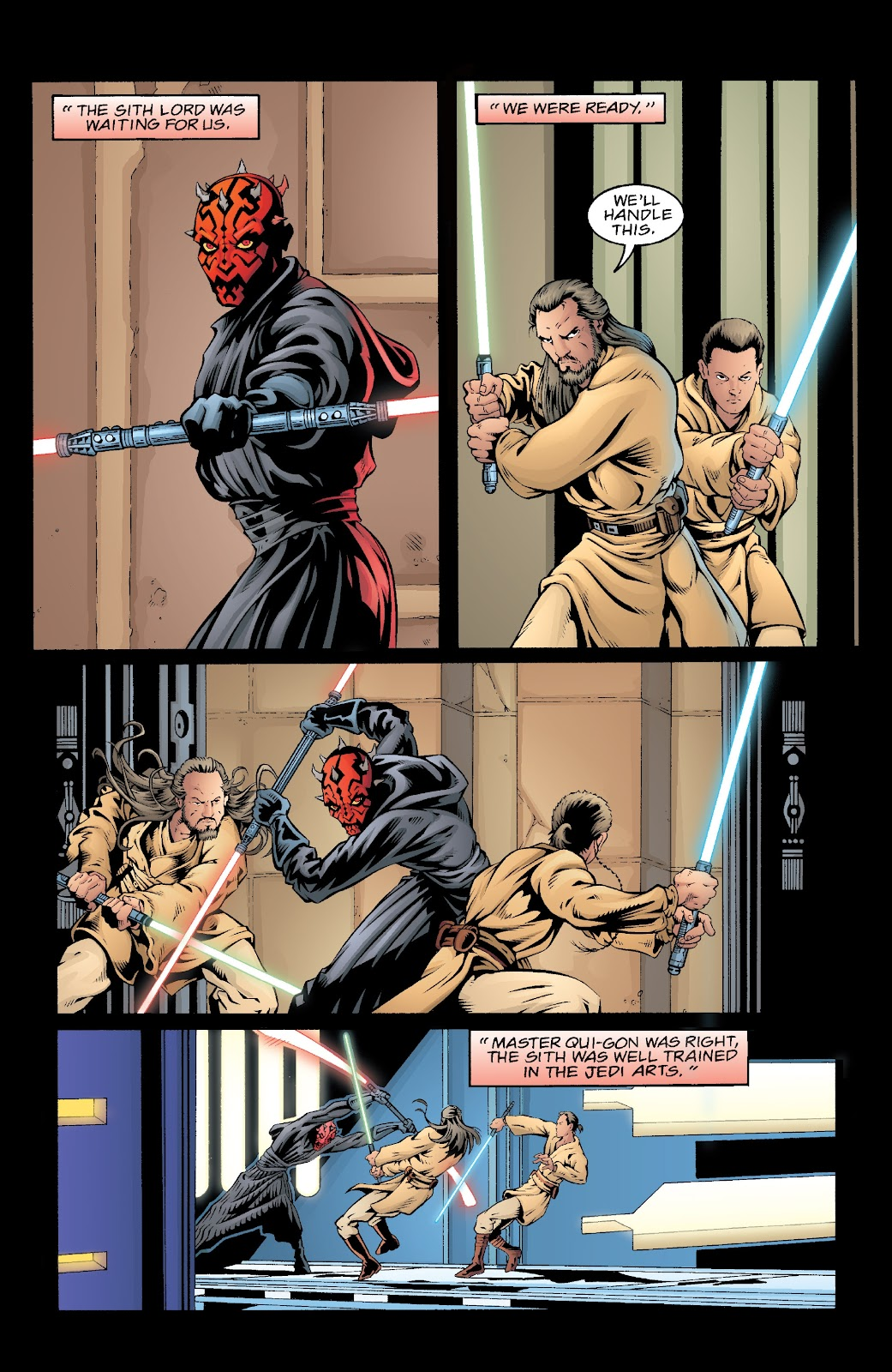 Read online Star Wars Legends: Rise of the Sith - Epic Collection comic -  Issue # TPB 2 (Part 5) - 41