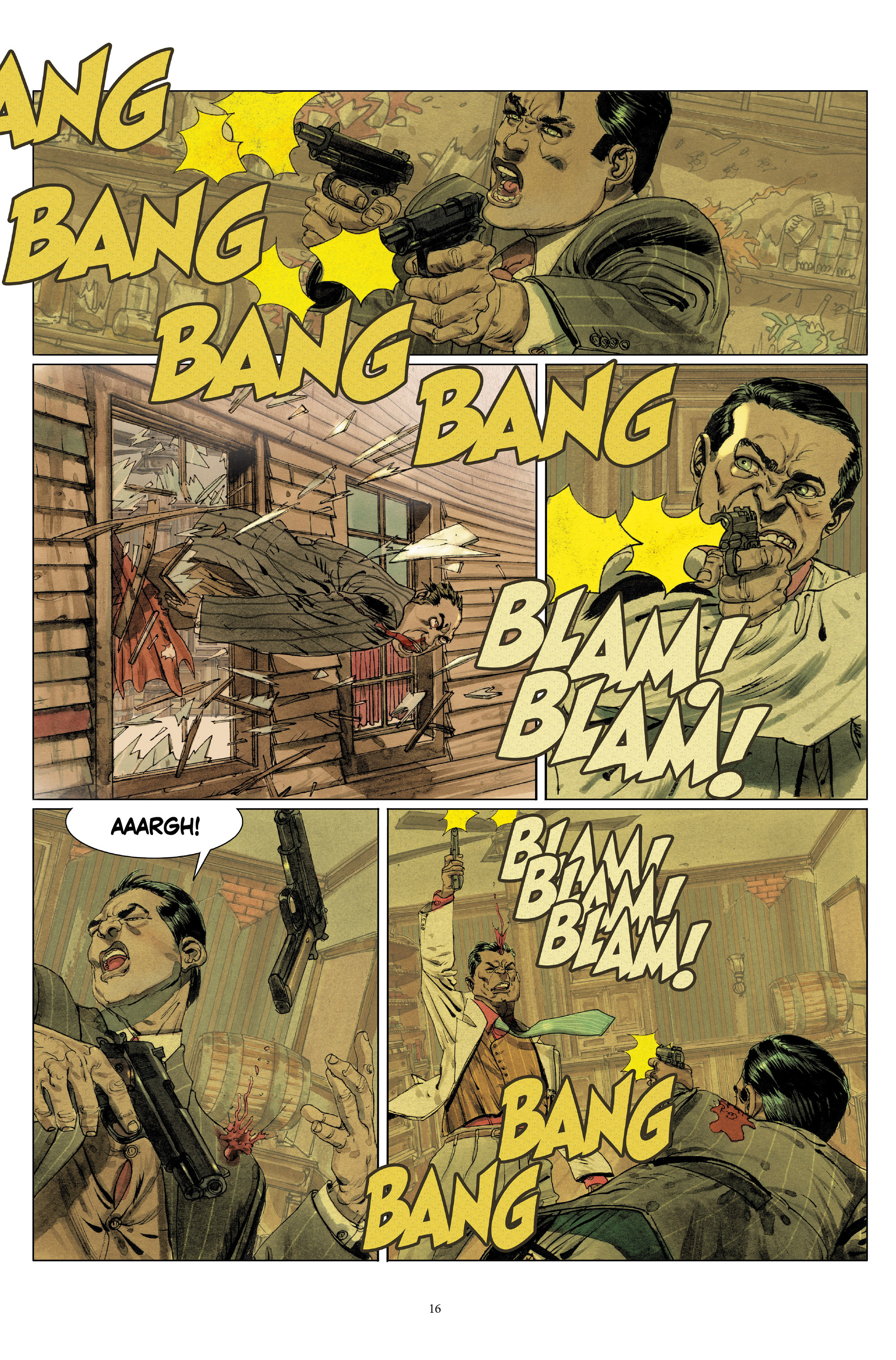 Read online Triggerman comic -  Issue #5 - 16