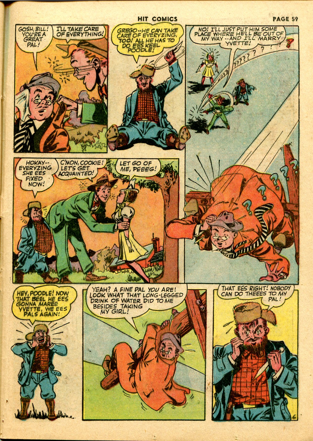 Read online Hit Comics comic -  Issue #28 - 62