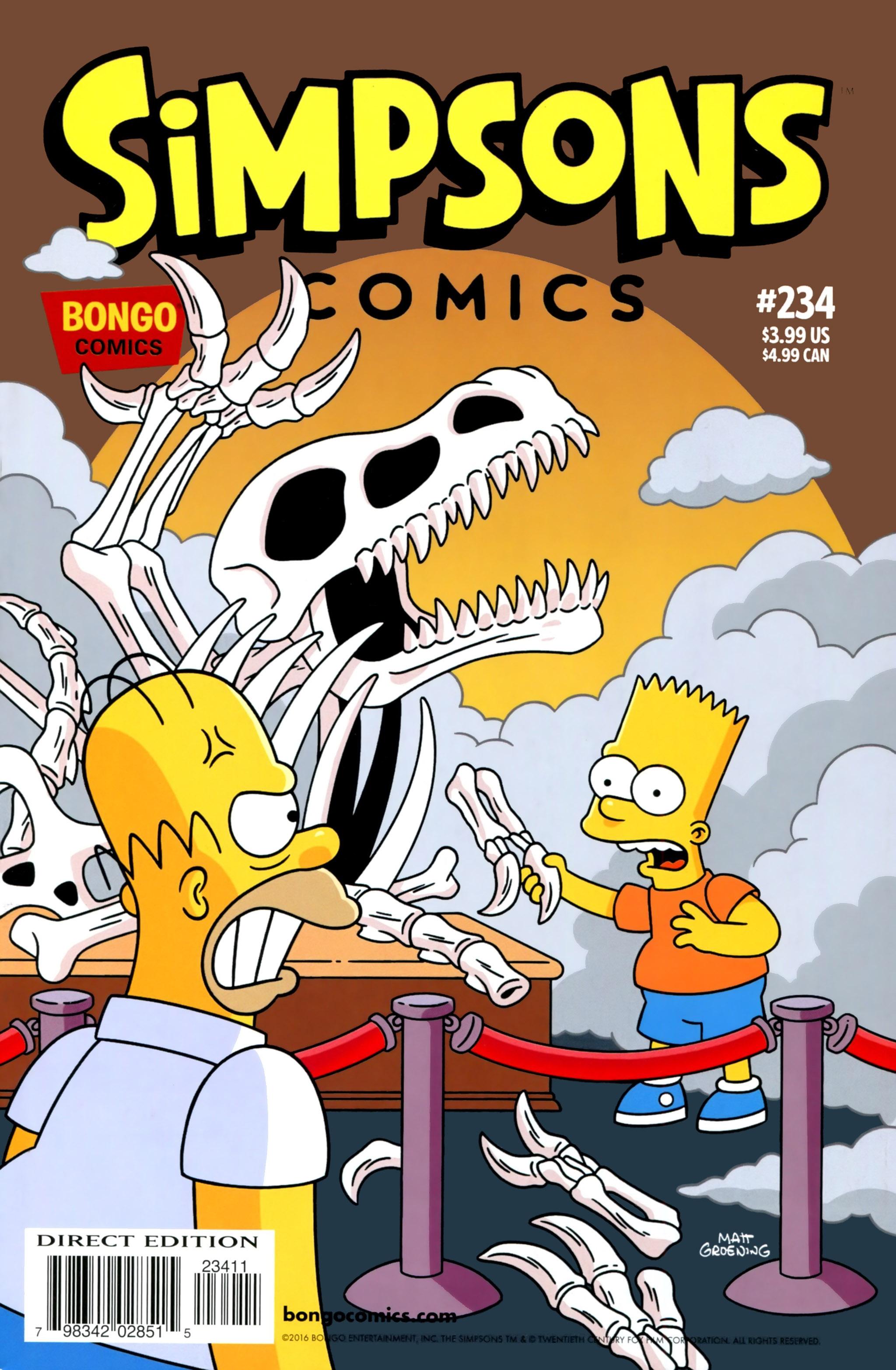 Read online Simpsons Comics comic -  Issue #234 - 1