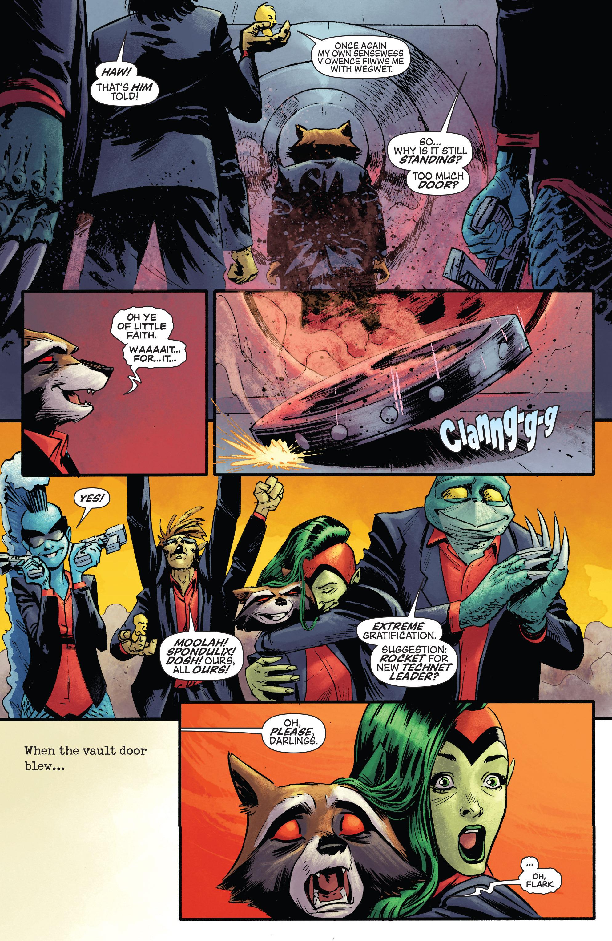 Read online Rocket comic -  Issue #1 - 21