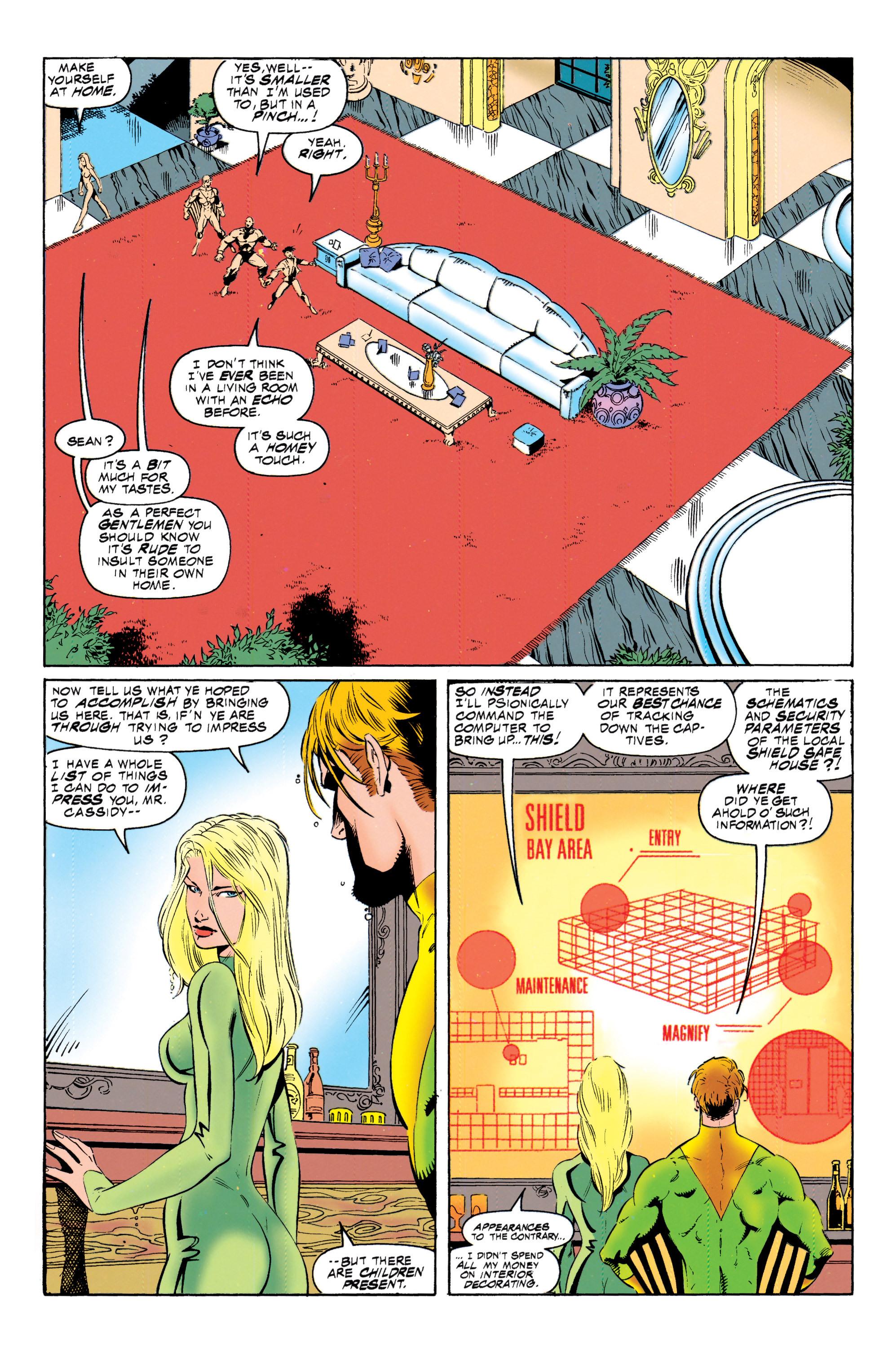 Read online Uncanny X-Men (1963) comic -  Issue #317 - 10