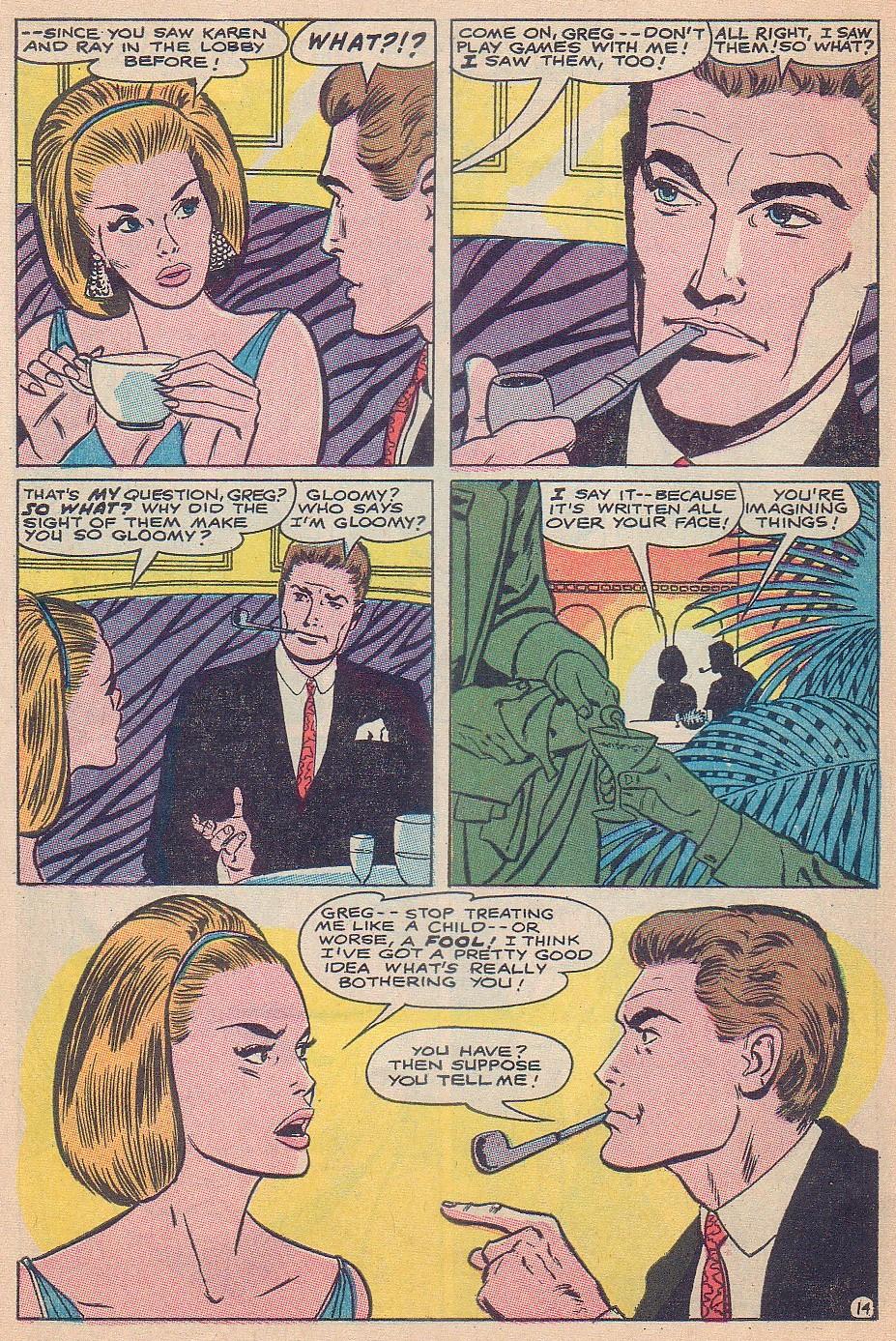 Read online Secret Hearts comic -  Issue #124 - 30
