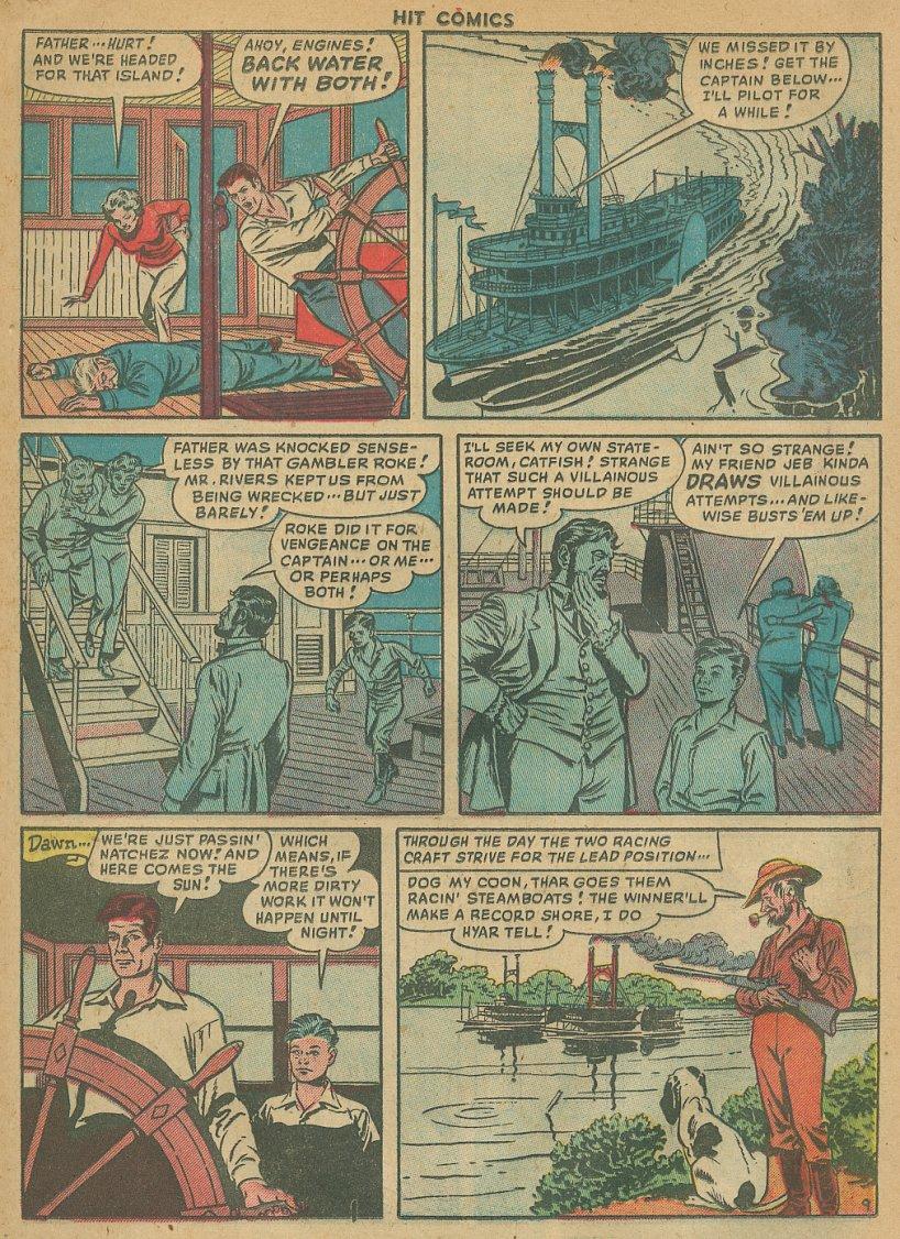 Read online Hit Comics comic -  Issue #61 - 11