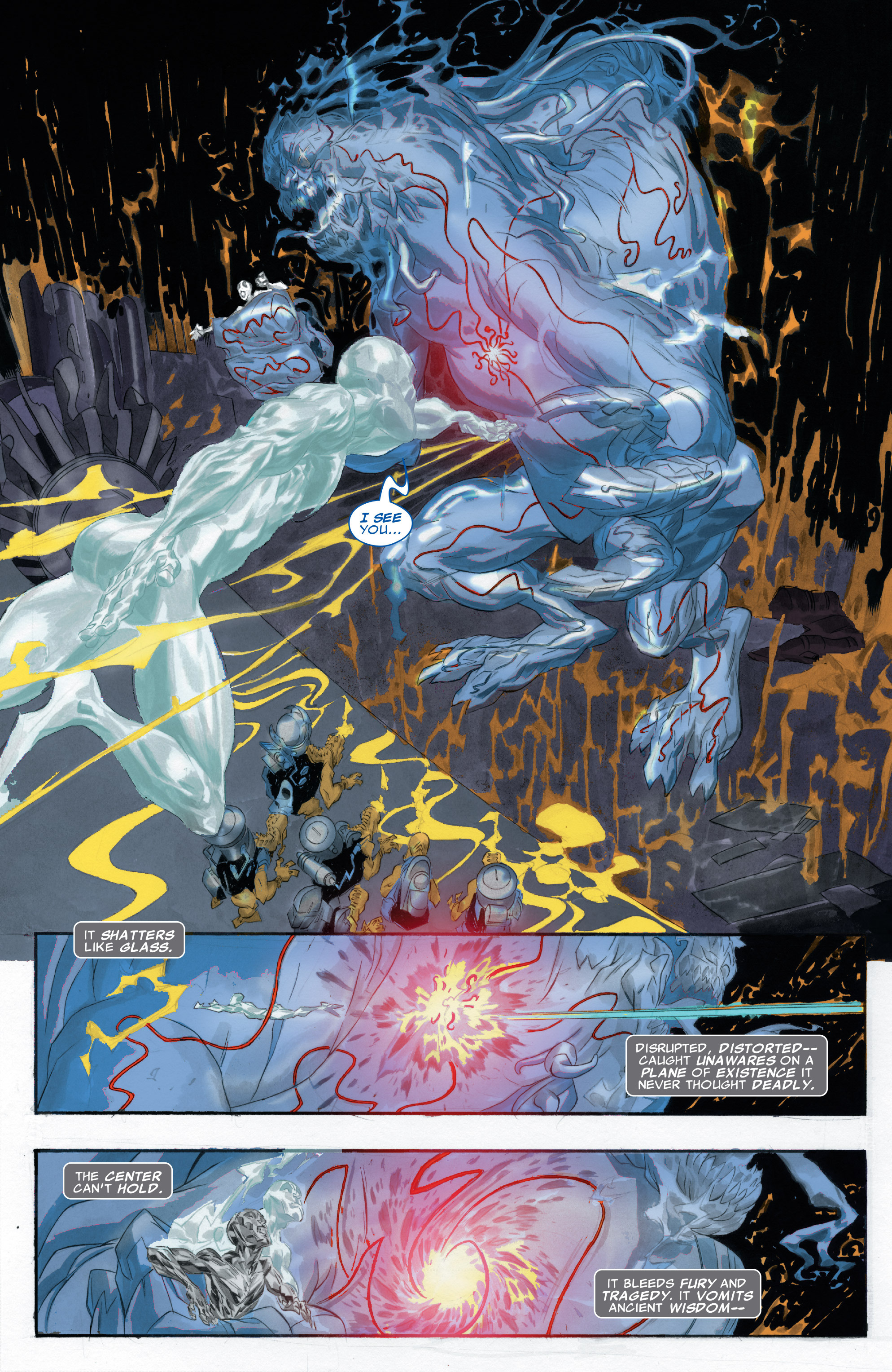 Read online Silver Surfer: In Thy Name comic -  Issue #2 - 5