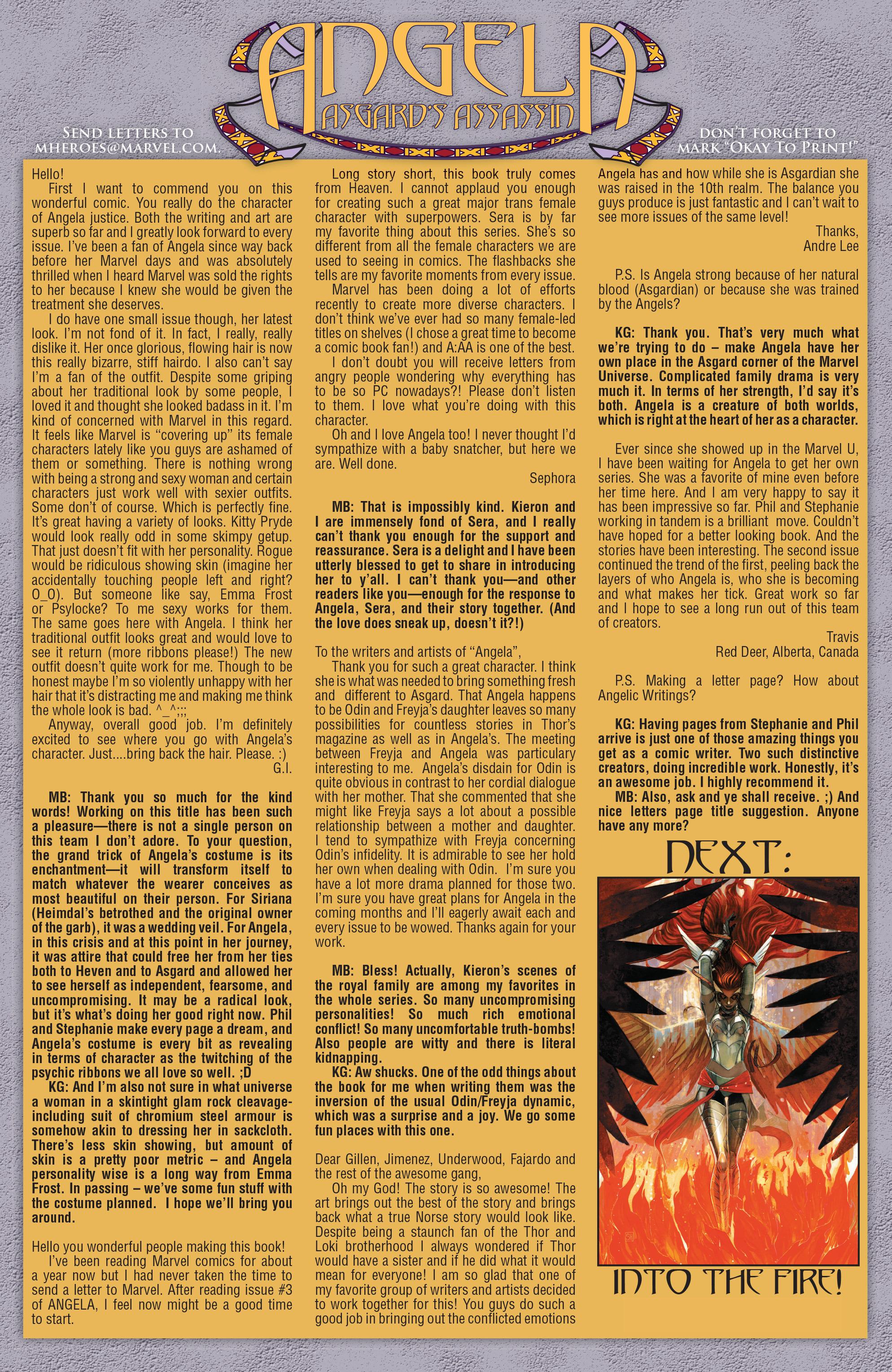 Read online Angela: Asgard's Assassin comic -  Issue #5 - 21