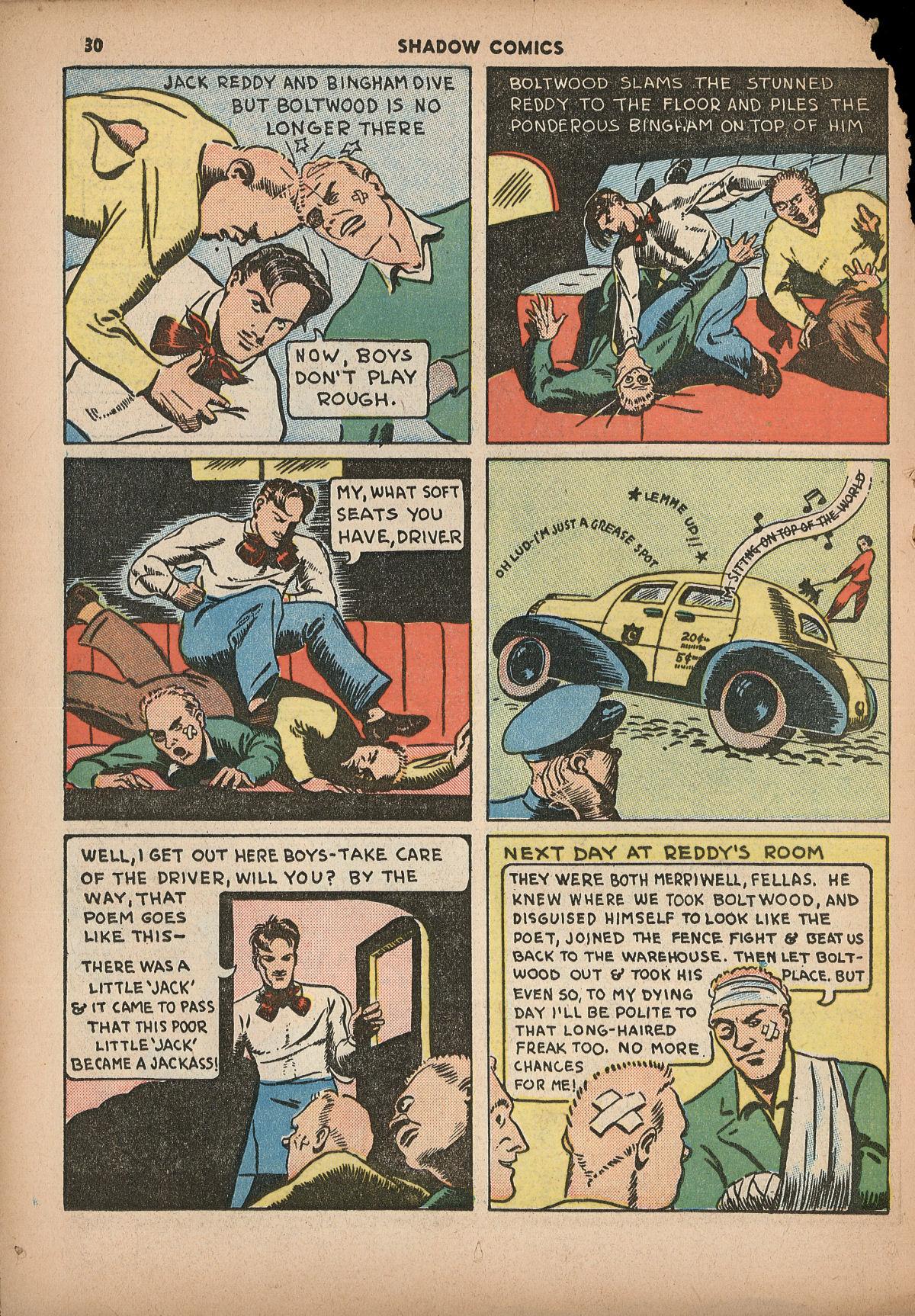 Read online Shadow Comics comic -  Issue #2 - 33
