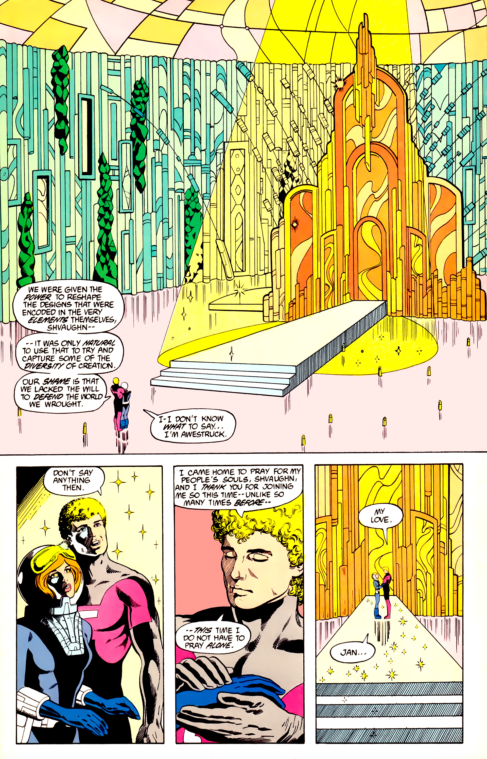 Legion of Super-Heroes (1984) 27 Page 9
