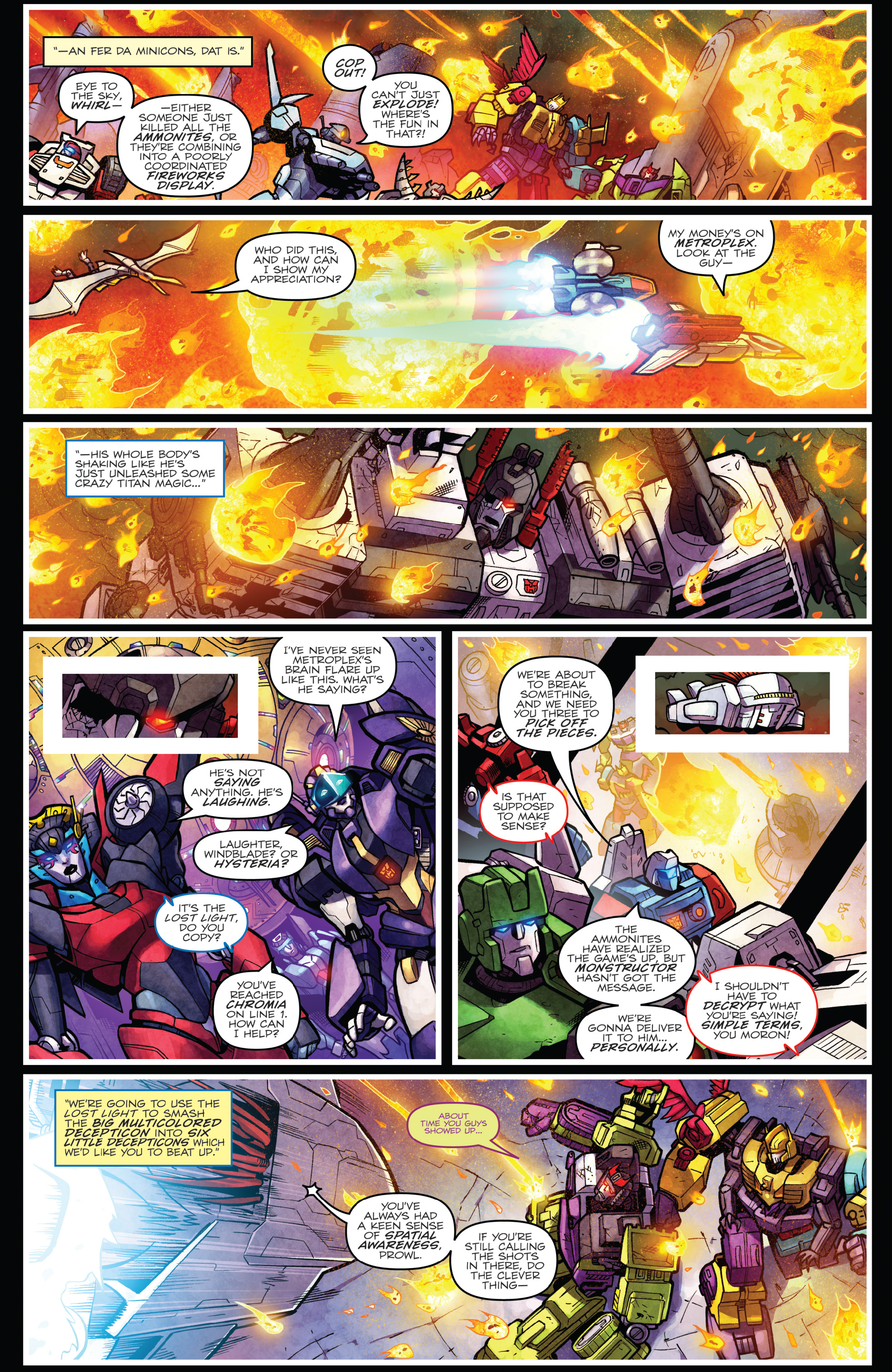 Read online The Transformers: Dark Cybertron Finale comic -  Issue # Full - 135