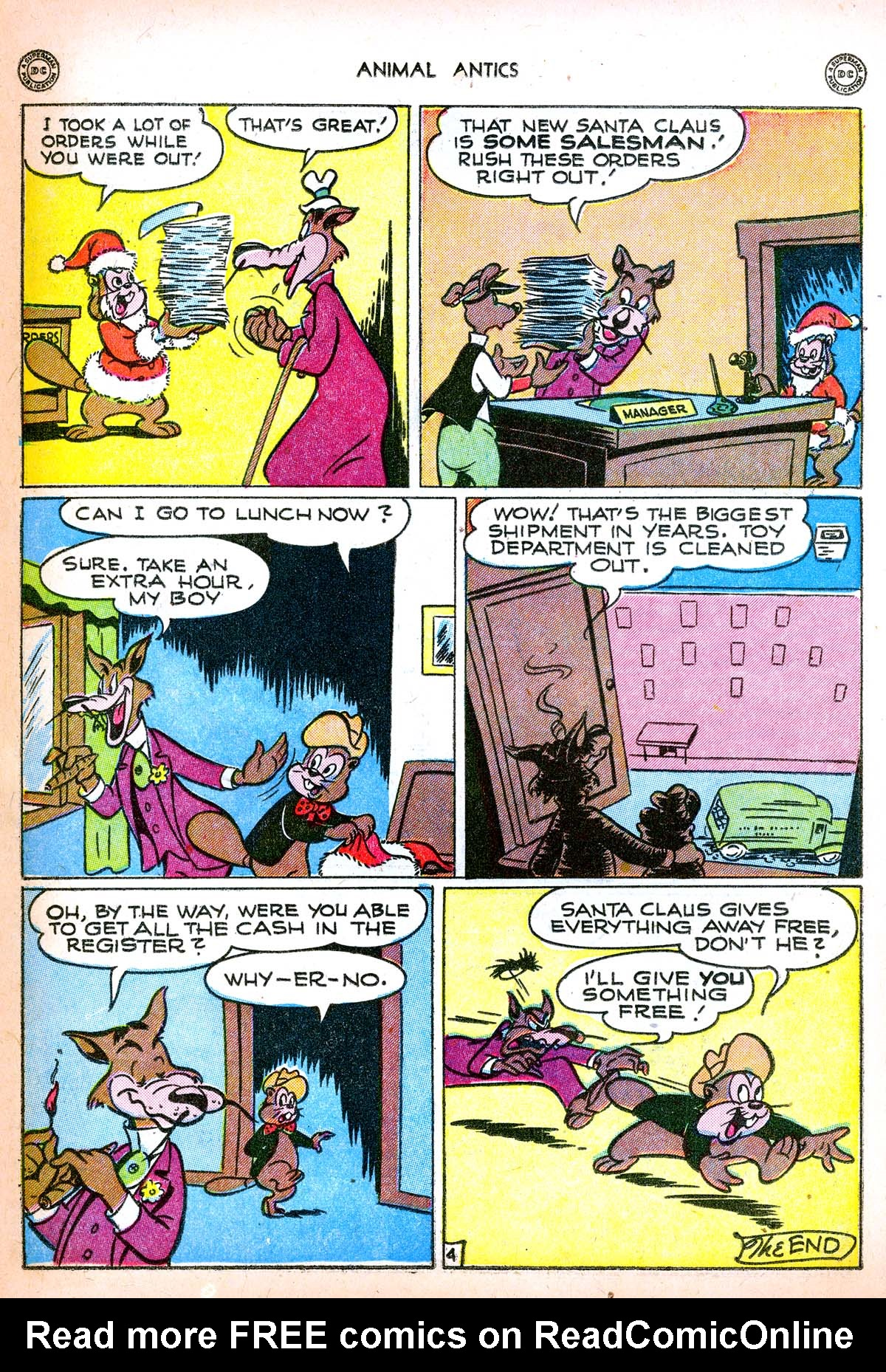 Read online Animal Antics comic -  Issue #6 - 20