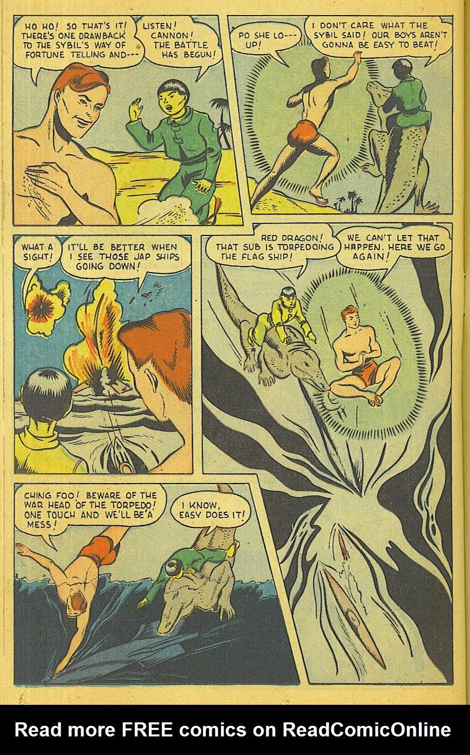 Read online Super-Magician Comics comic -  Issue #39 - 35