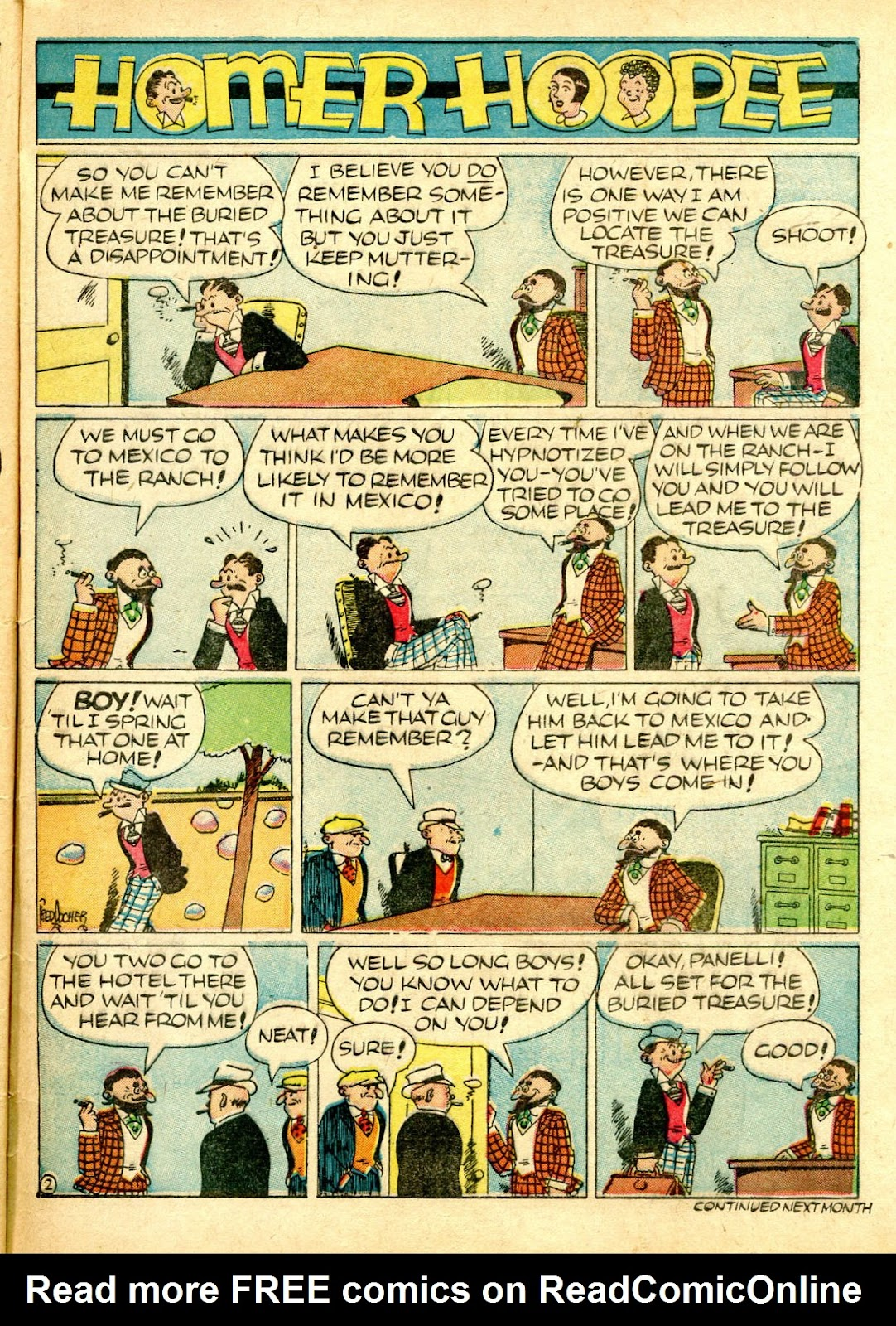Read online Famous Funnies comic -  Issue #63 - 62