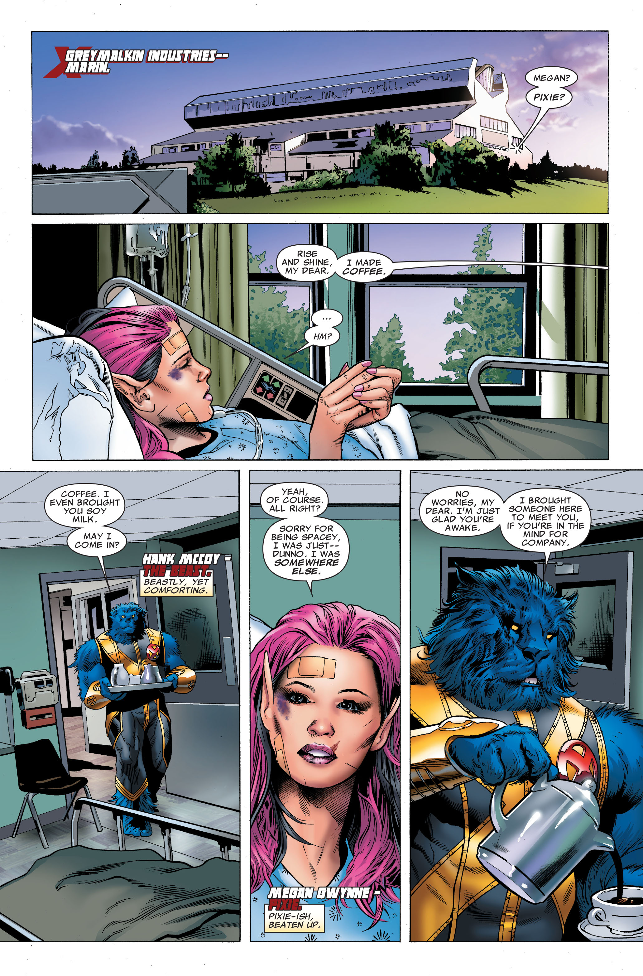 Read online Uncanny X-Men (1963) comic -  Issue #502 - 7