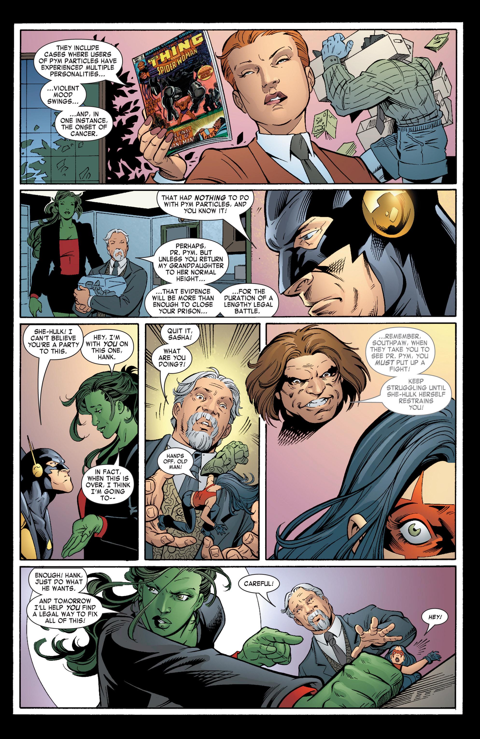 Read online She-Hulk (2004) comic -  Issue #6 - 7