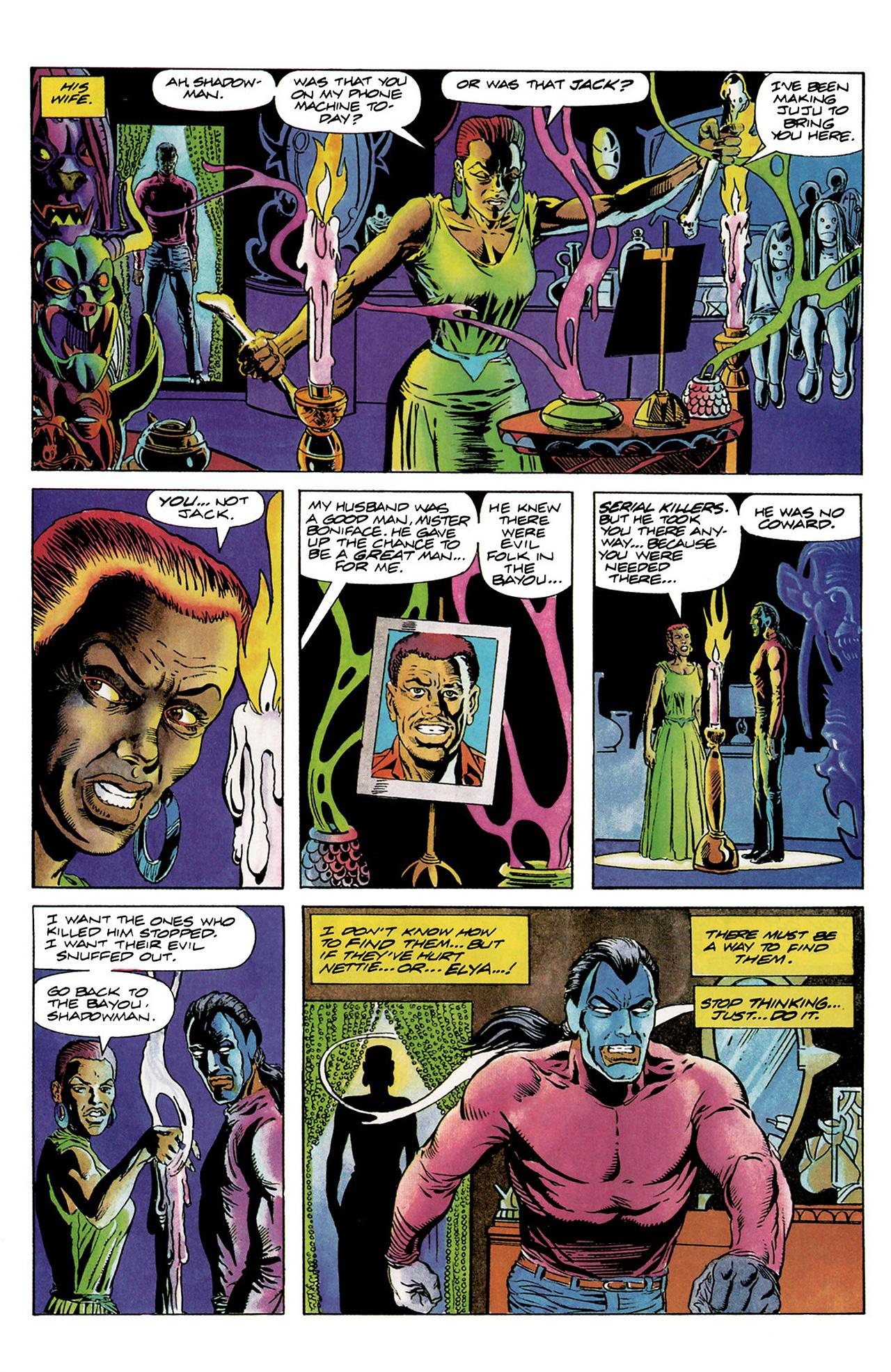 Read online Shadowman (1992) comic -  Issue #6 - 11