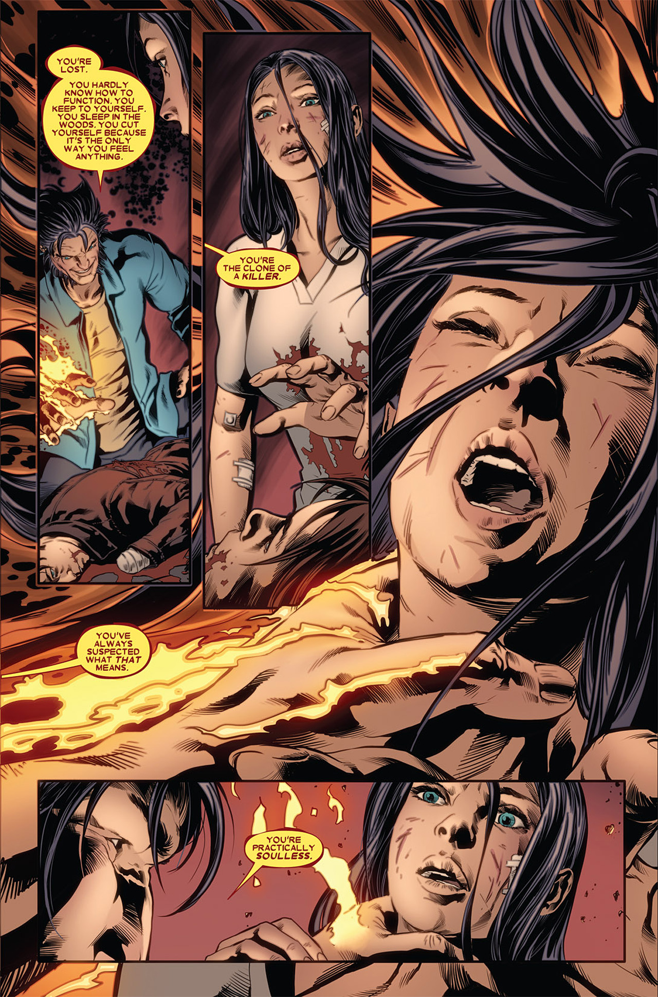 Read online X-23 (2010) comic -  Issue #2 - 21
