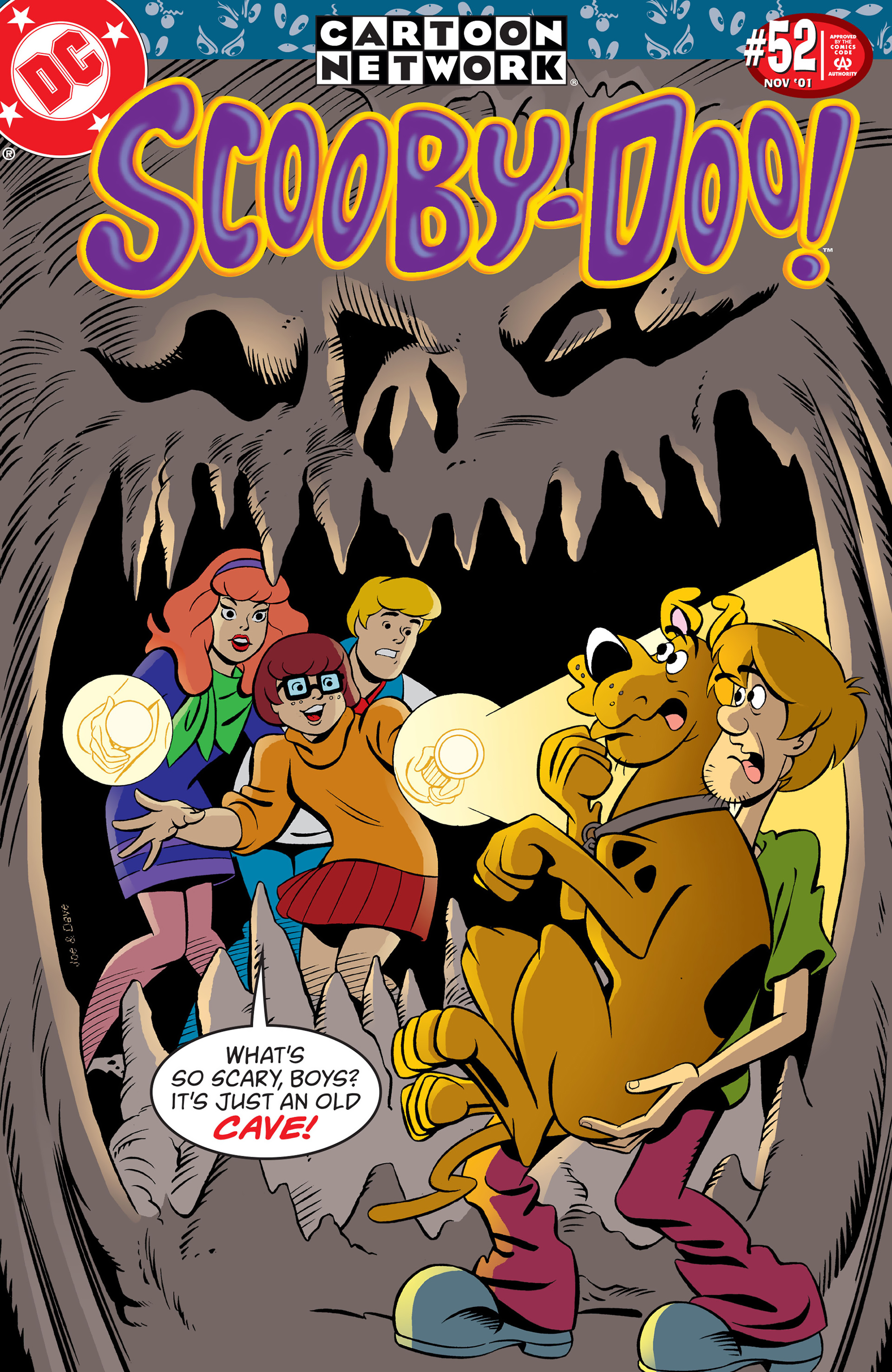 Read online Scooby-Doo (1997) comic -  Issue #52 - 1