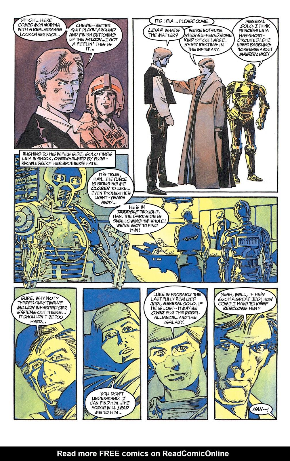 Read online Star Wars: Dark Empire Trilogy comic -  Issue # TPB (Part 1) - 68