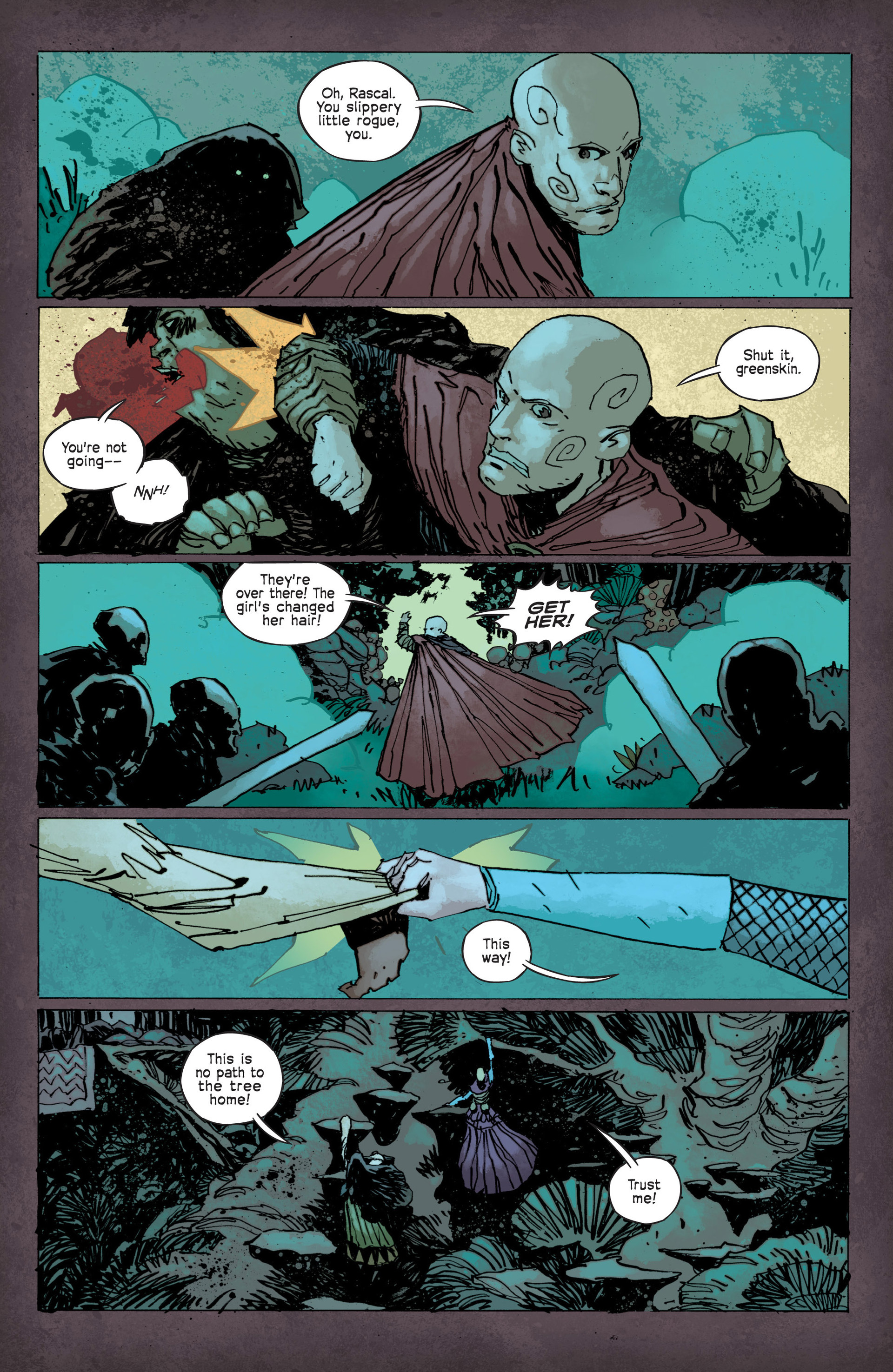 Read online Umbral comic -  Issue #12 - 12