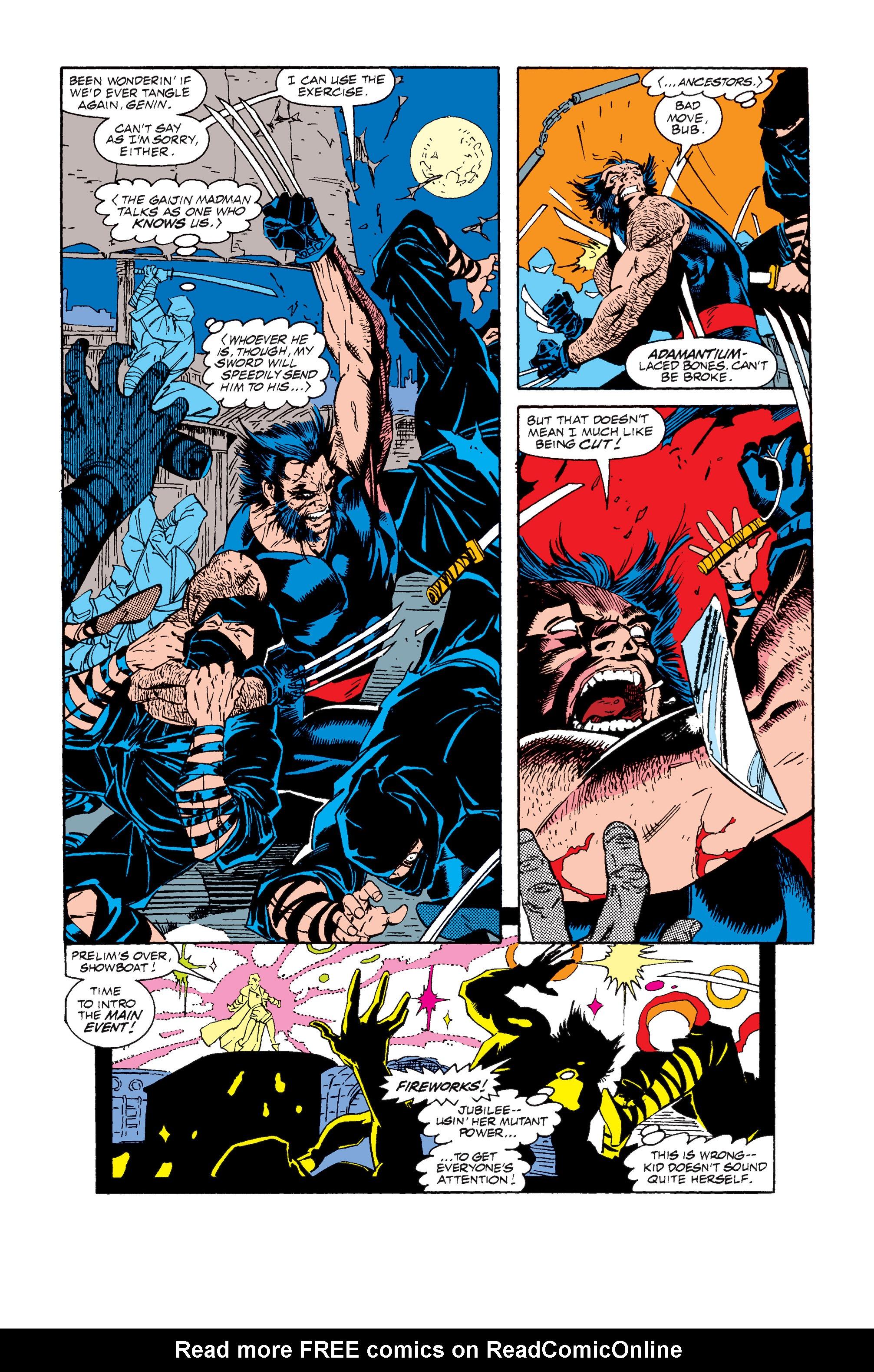 Read online Uncanny X-Men (1963) comic -  Issue #257 - 22