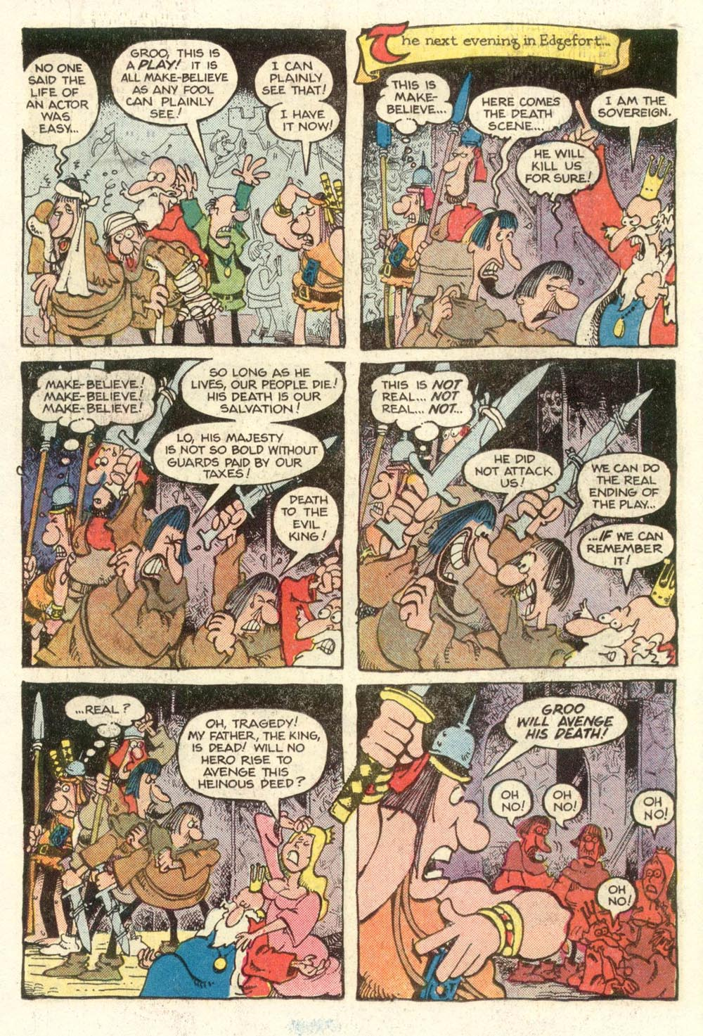 Read online Sergio Aragonés Groo the Wanderer comic -  Issue #12 - 13