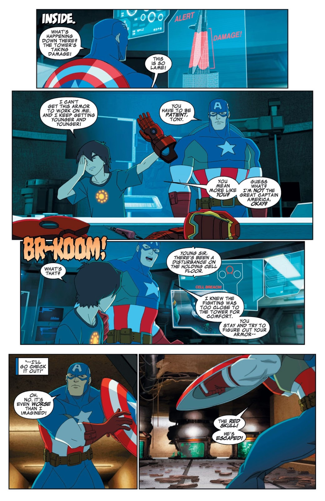 Read online Marvel Universe Avengers Assemble Season 2 comic -  Issue #6 - 13