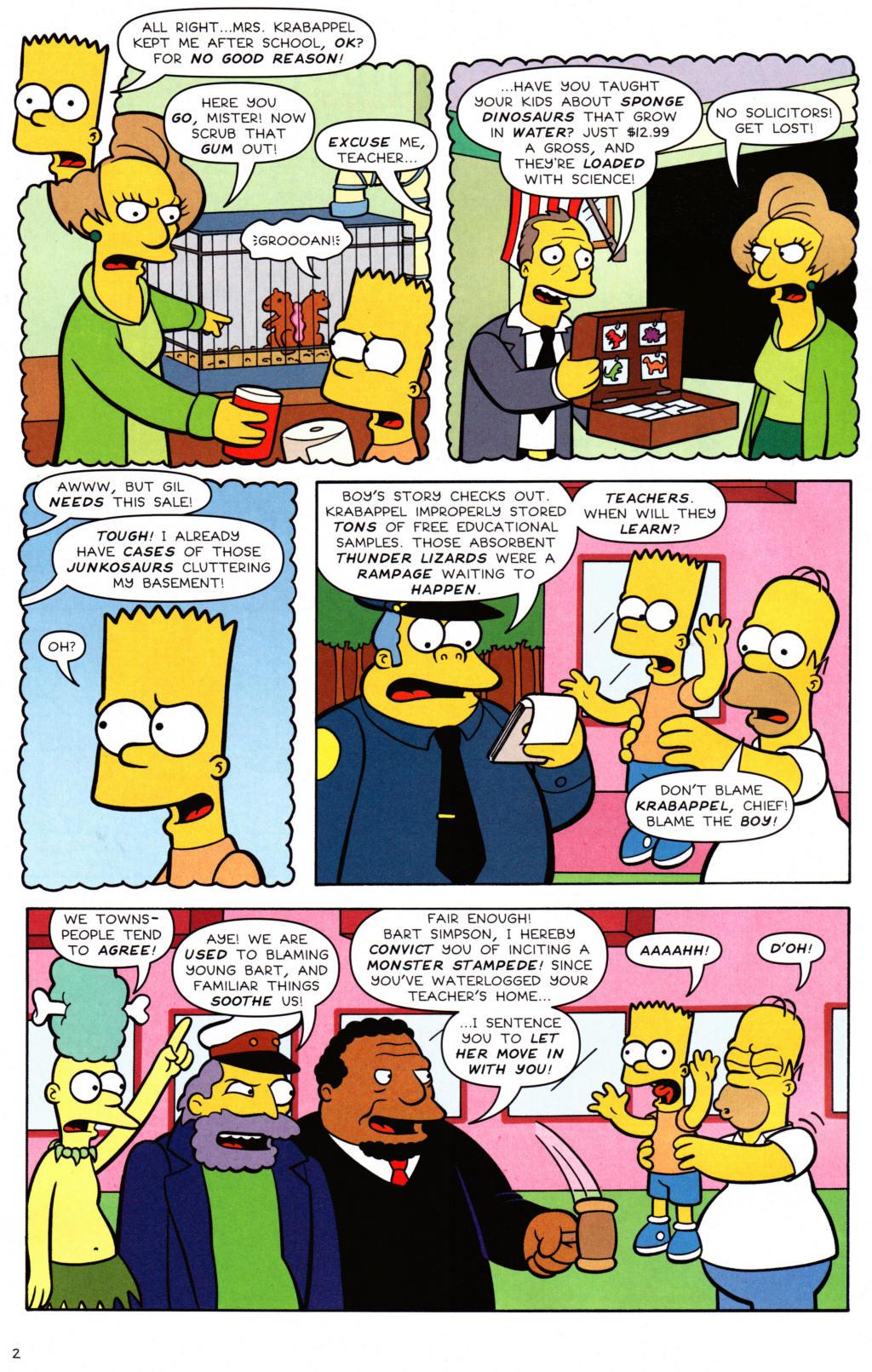 Read online Simpsons Comics Presents Bart Simpson comic -  Issue #34 - 3