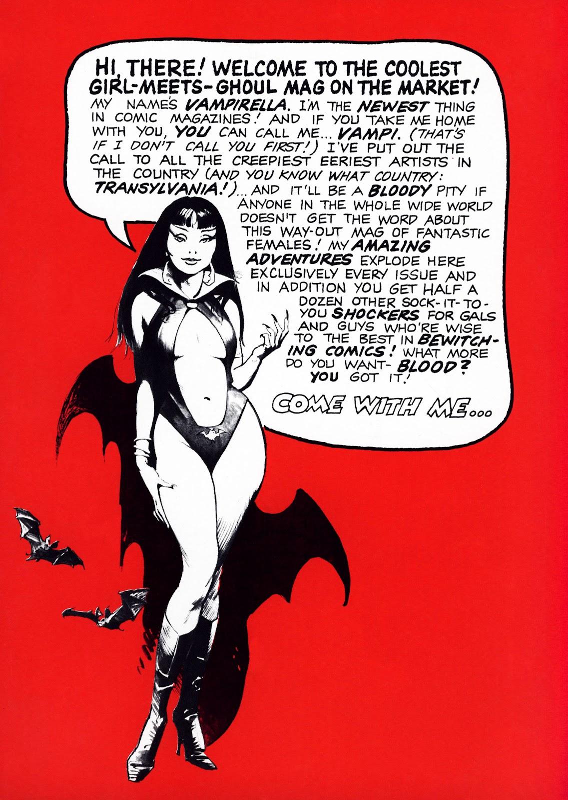 Vampirella (1969) 1 Page 2