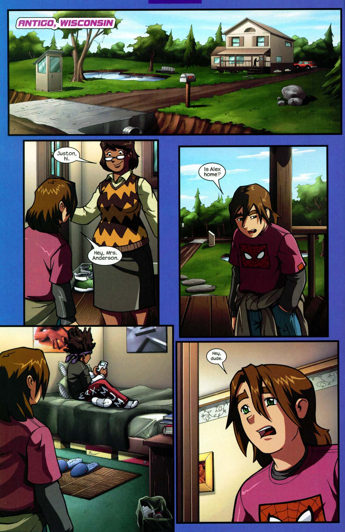 Read online Sentinel comic -  Issue #5 - 4