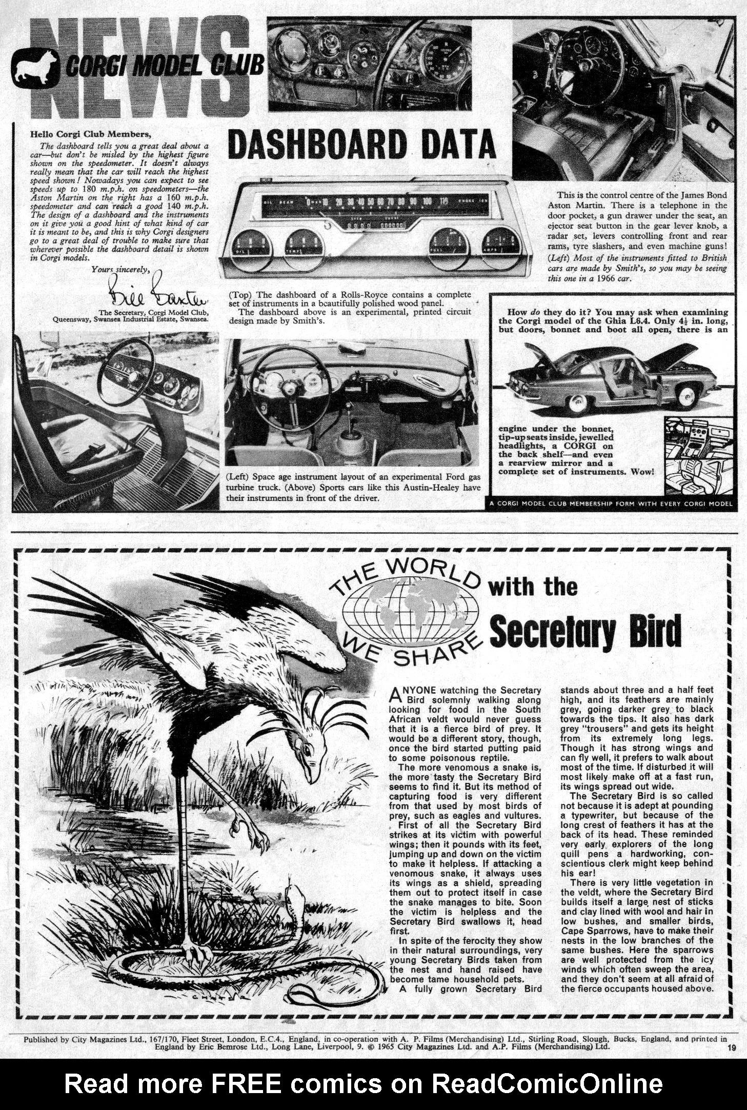 Read online TV Century 21 (TV 21) comic -  Issue #30 - 18