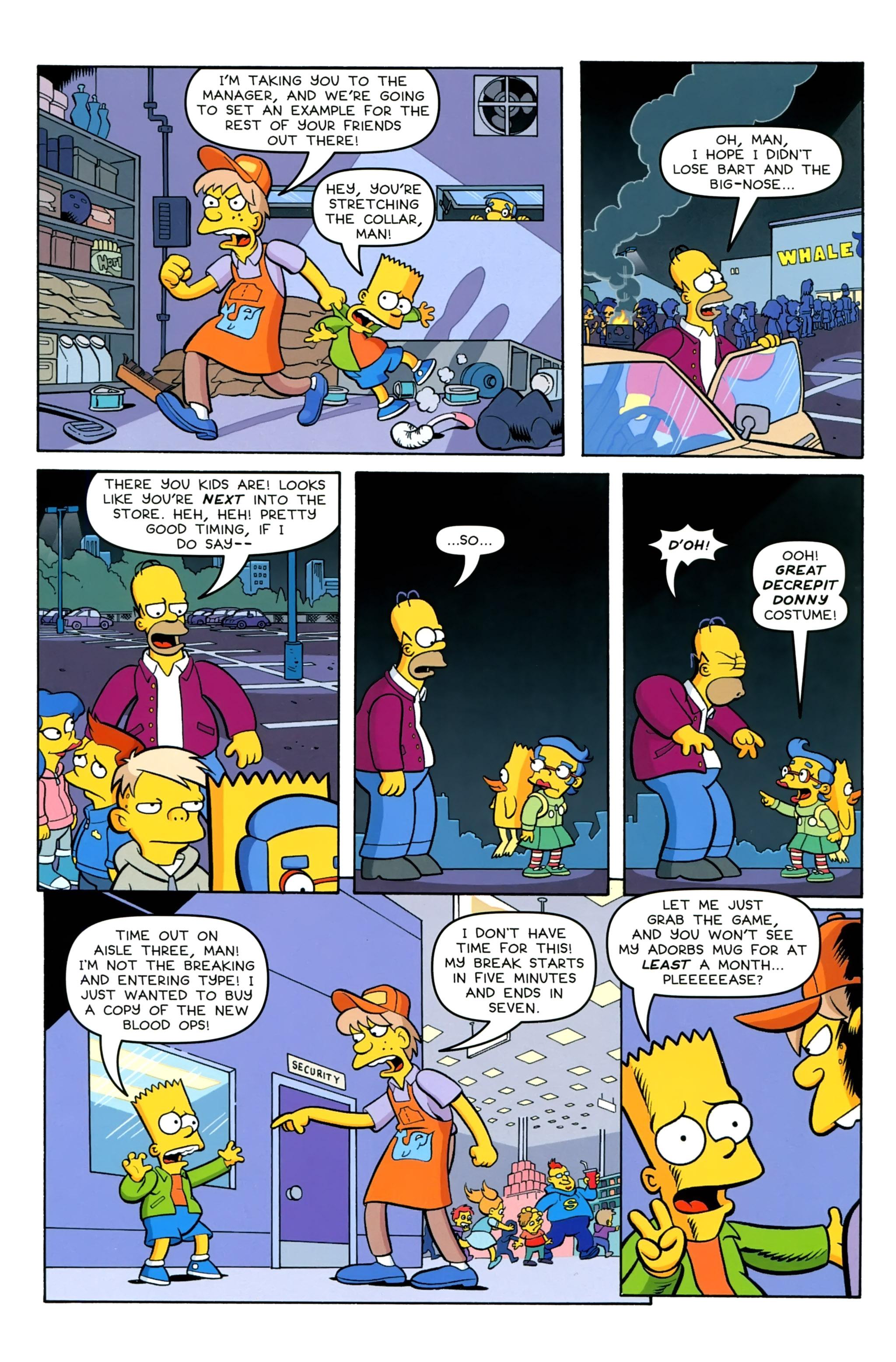 Read online Simpsons Comics comic -  Issue #230 - 8