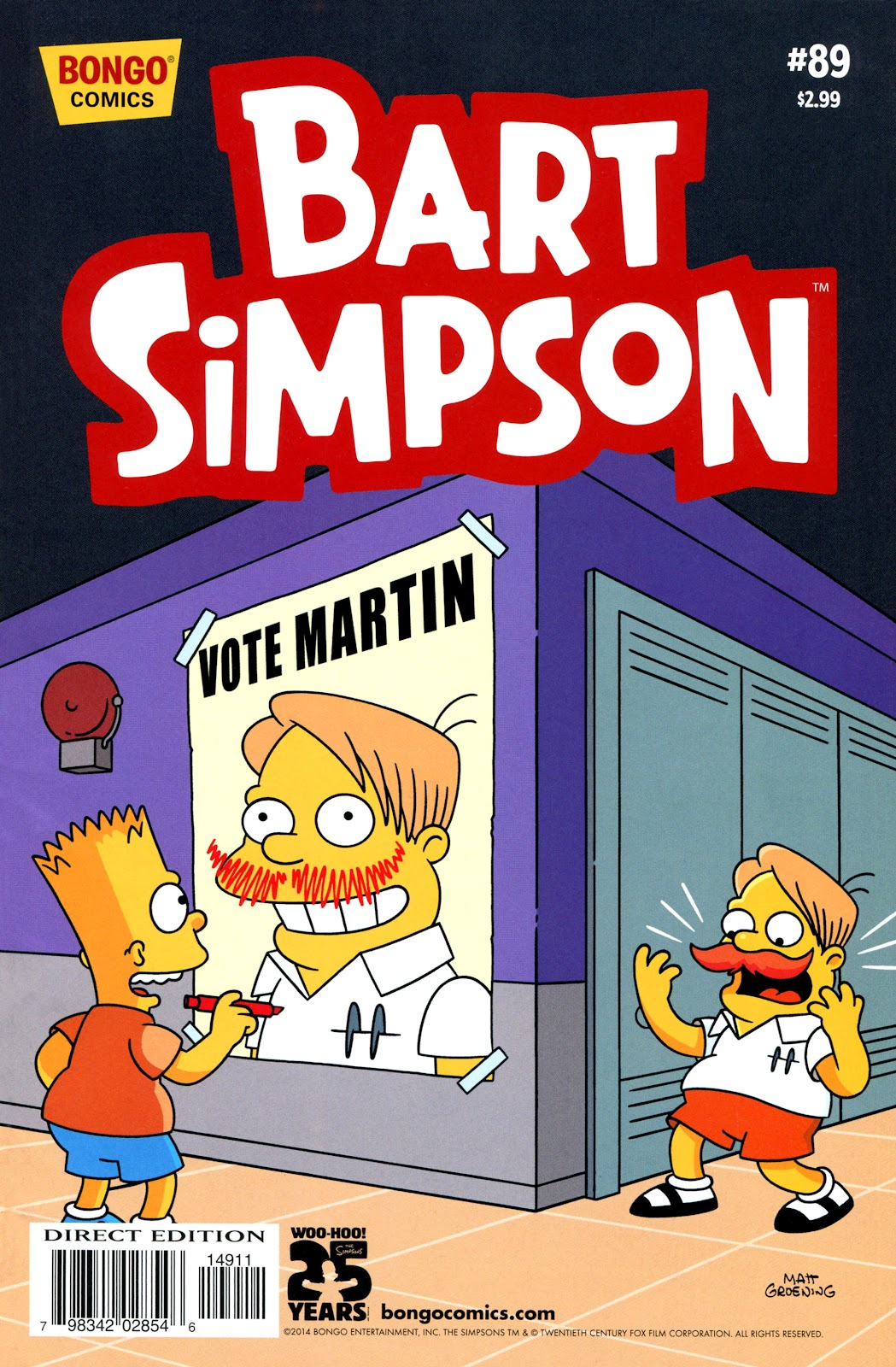 Simpsons Comics Presents Bart Simpson 89 Page 1