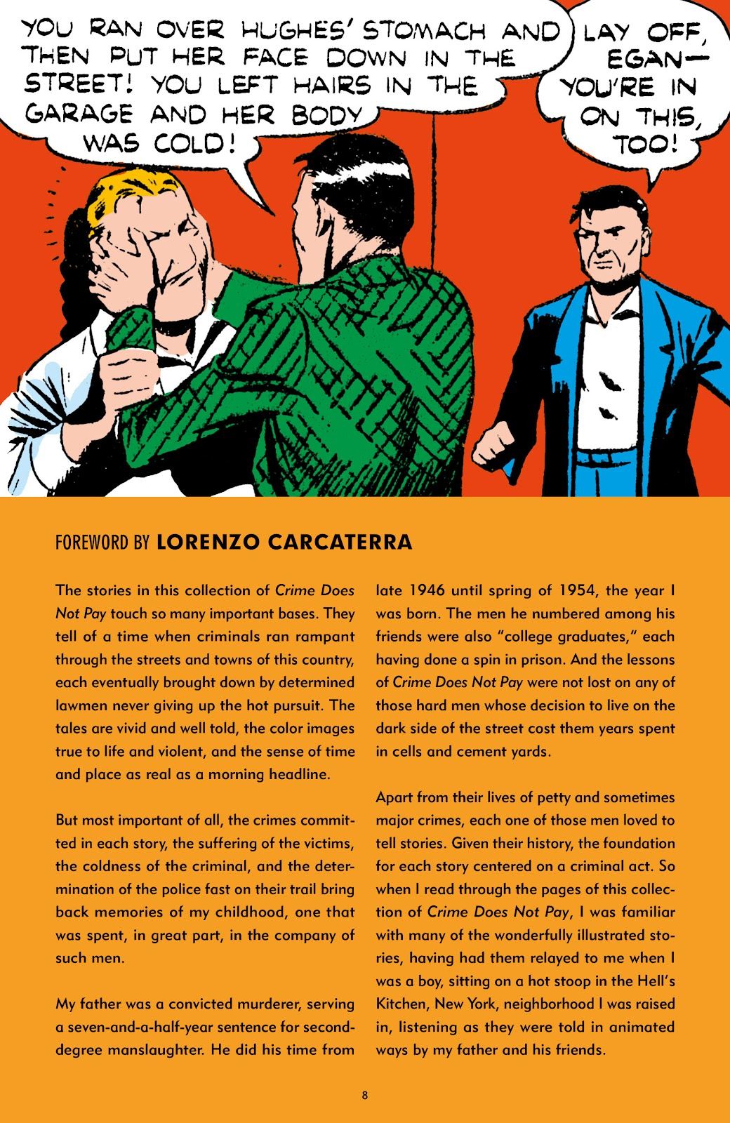 Read online Crime Does Not Pay Archives comic -  Issue # TPB 7 (Part 1) - 8