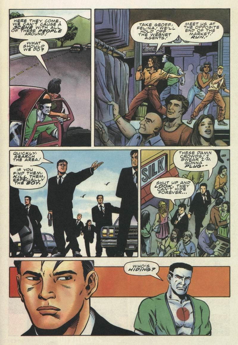Read online Secret Weapons comic -  Issue #9 - 15