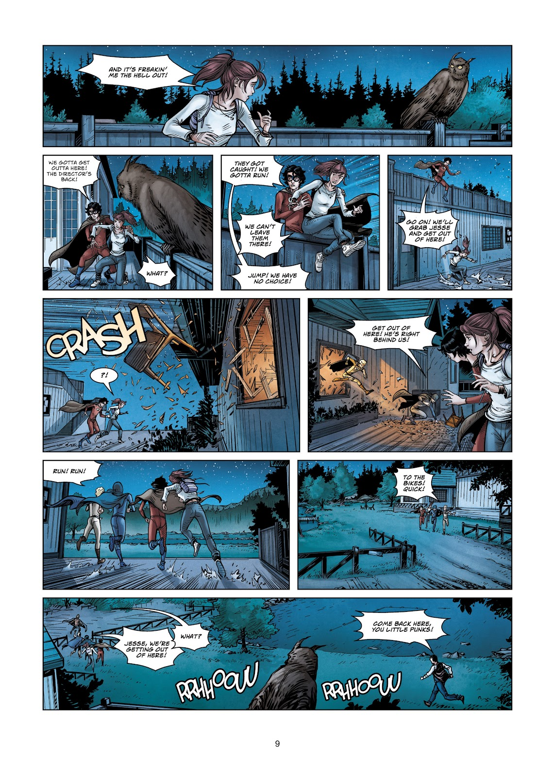 Read online Vigilantes comic -  Issue #3 - 9