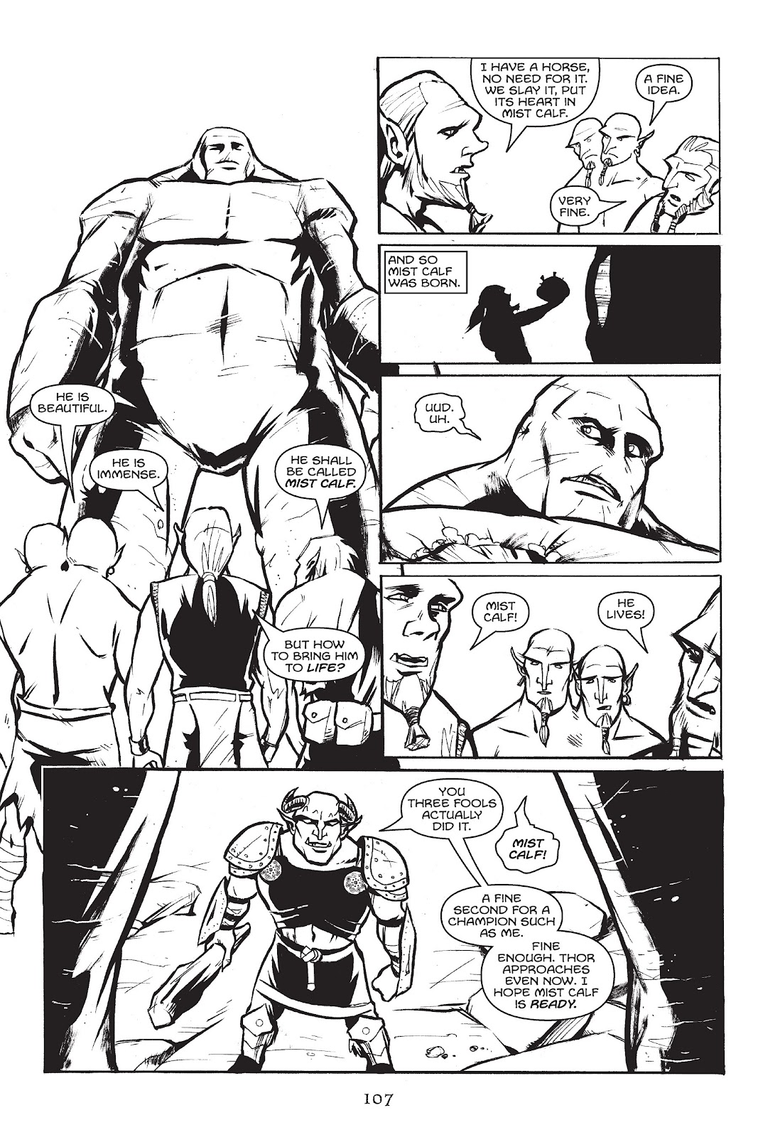 Read online Gods of Asgard comic -  Issue # TPB (Part 2) - 9