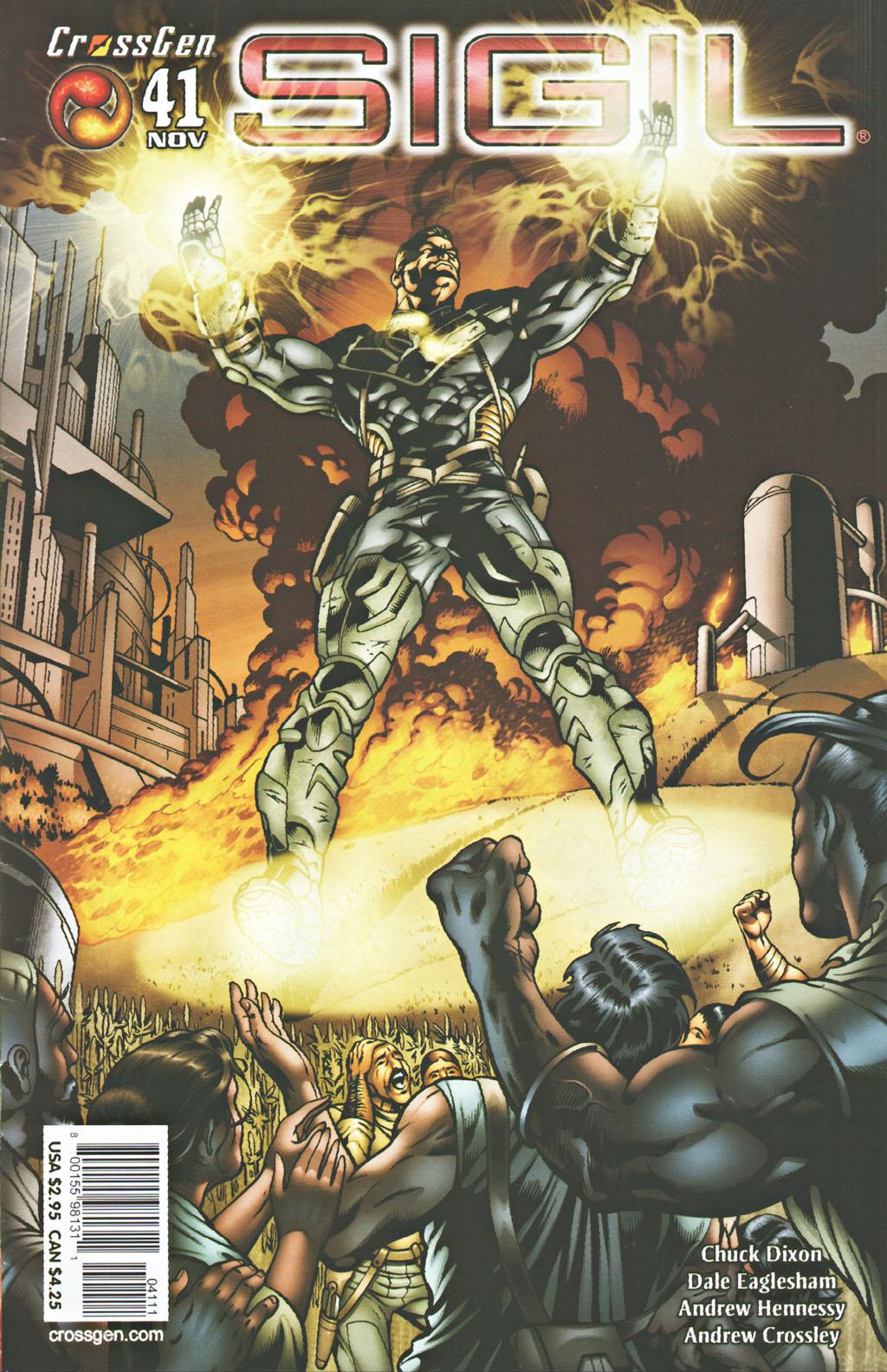 Read online Sigil (2000) comic -  Issue #41 - 1