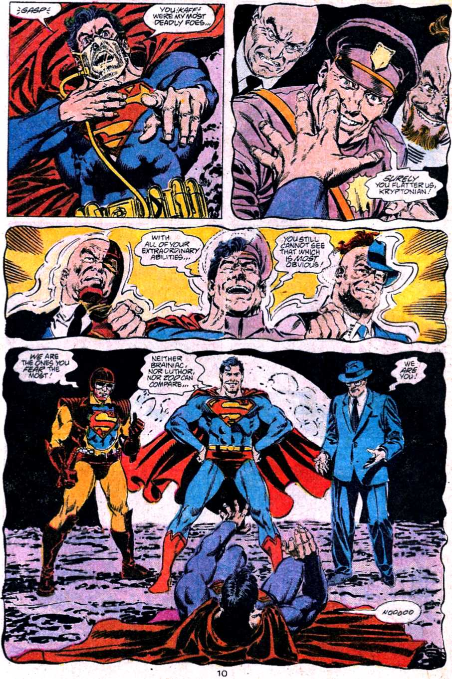 Read online Adventures of Superman (1987) comic -  Issue #453 - 10