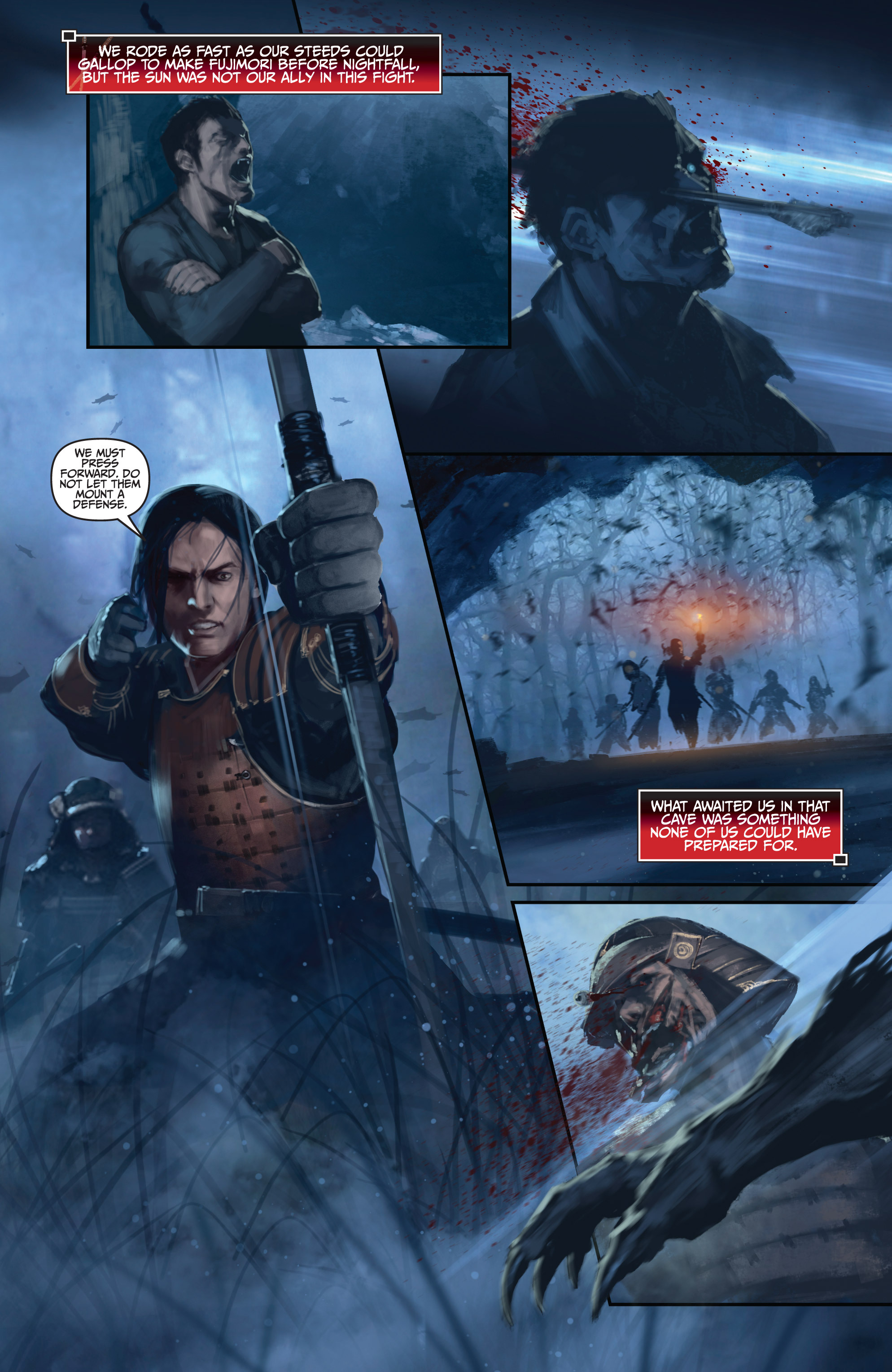 Read online Bushido: The Way of the Warrior comic -  Issue #4 - 15