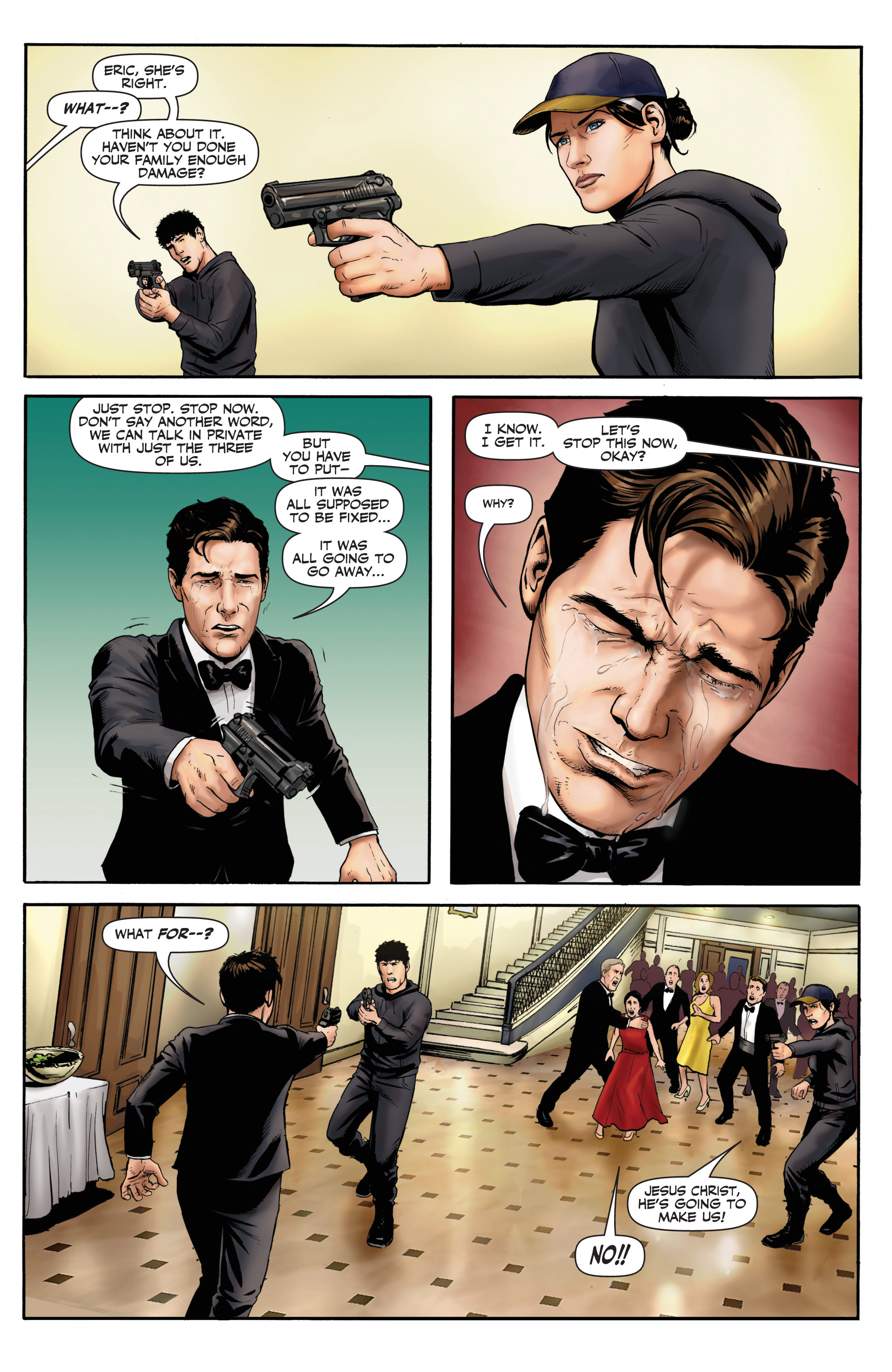 Read online Red Team: Double Tap, Center Mass comic -  Issue #9 - 13