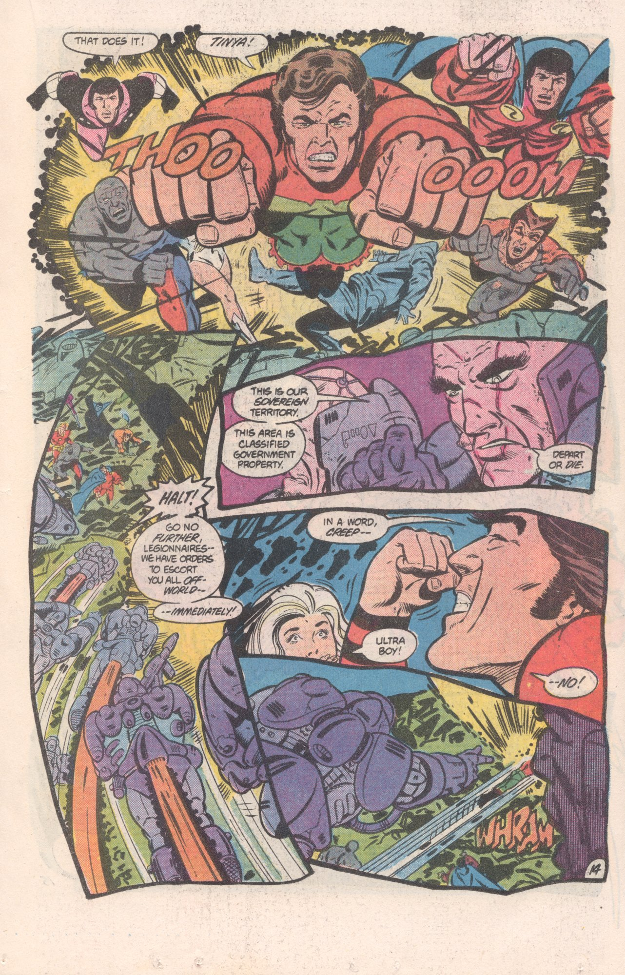 Legion of Super-Heroes (1980) 310 Page 14