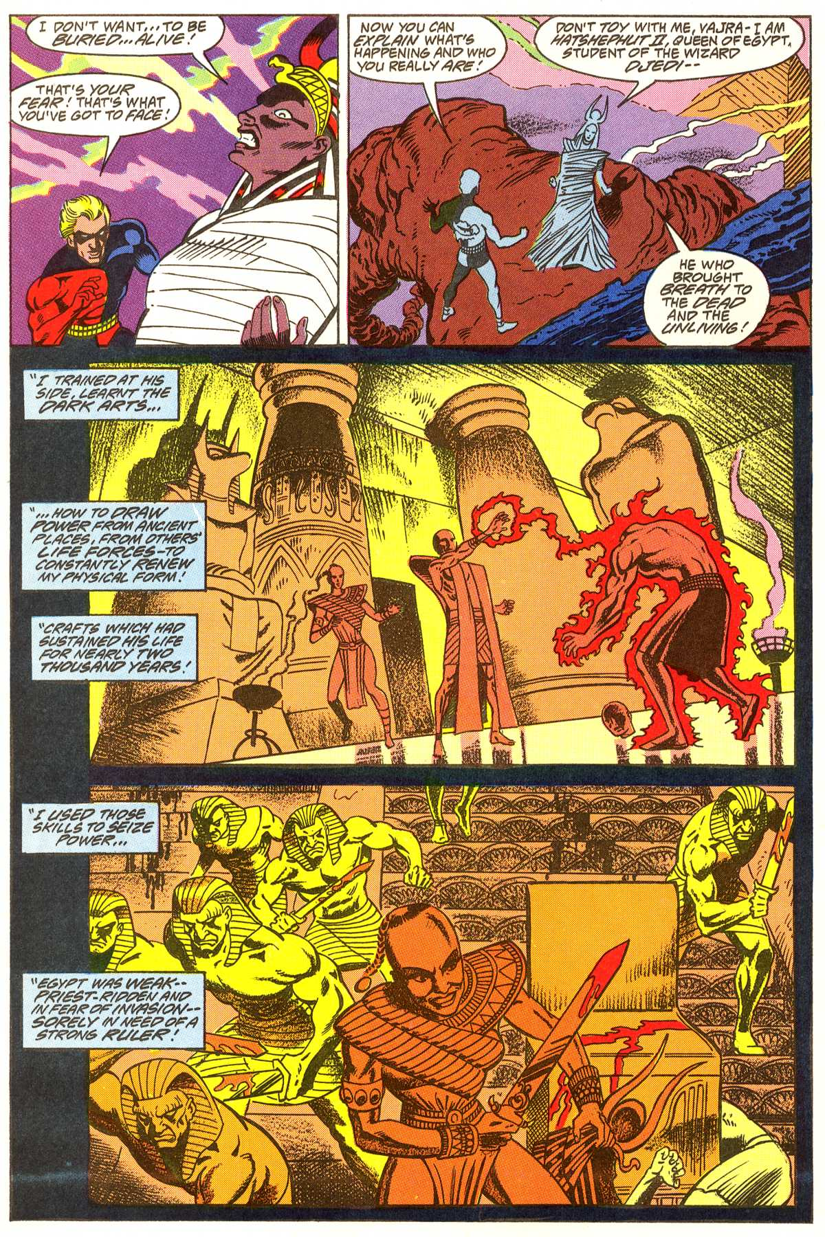 Read online Peter Cannon--Thunderbolt (1992) comic -  Issue #4 - 11