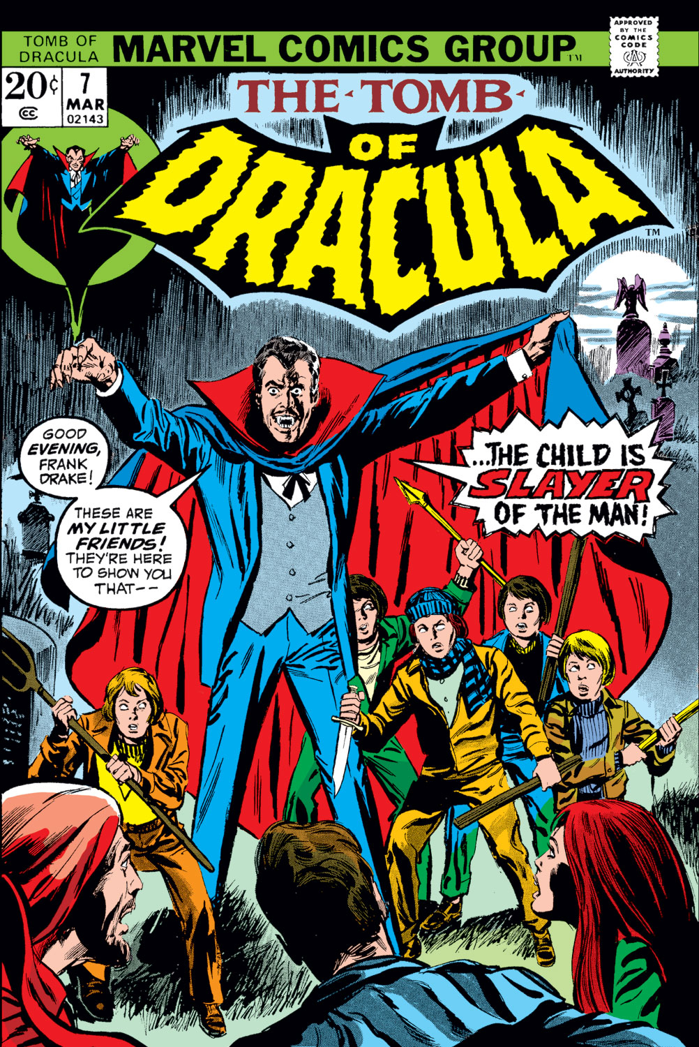 Tomb of Dracula (1972) issue 7 - Page 1